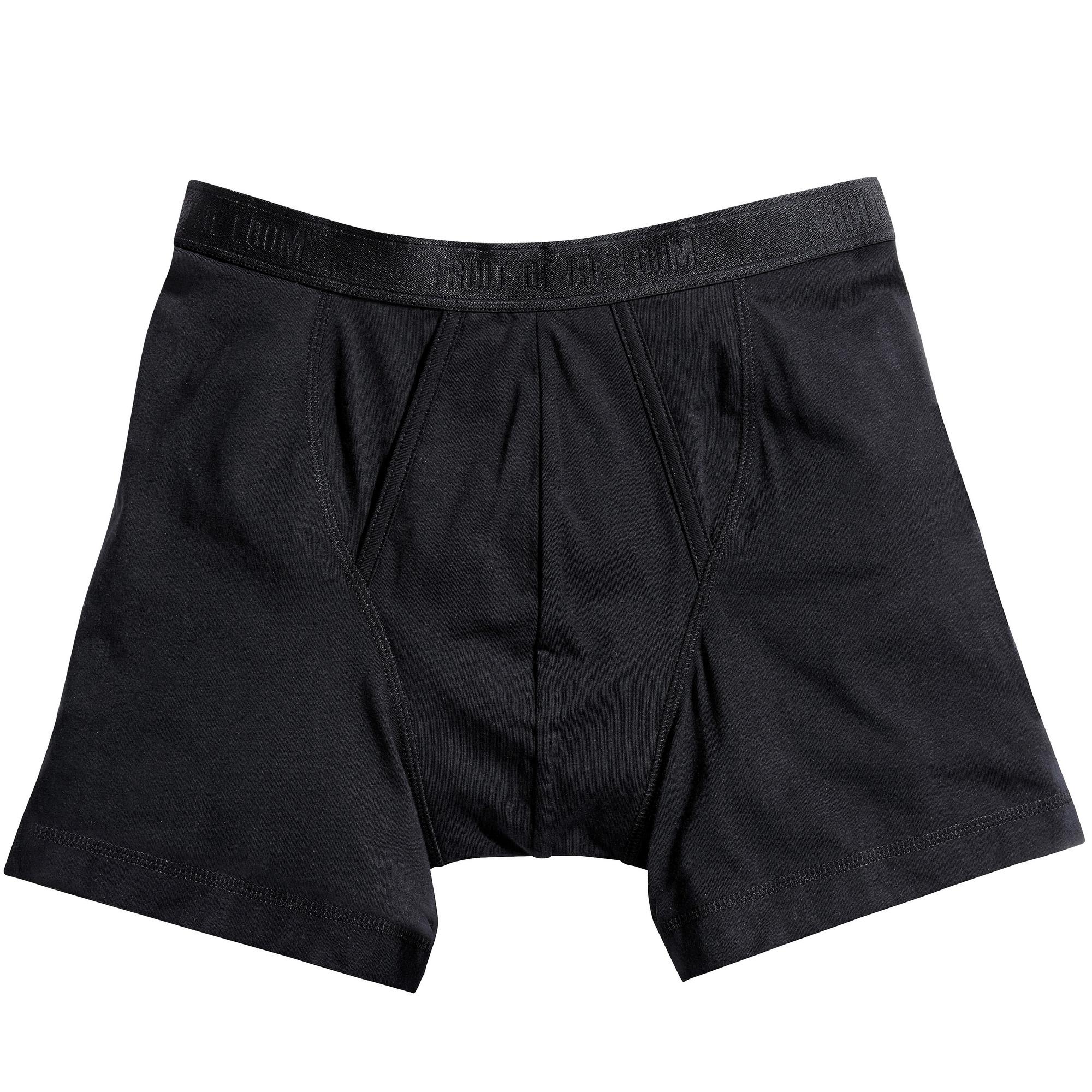 miniature 9 - Fruit-Of-The-Loom-Lot-de-2-boxers-Homme-BC3358