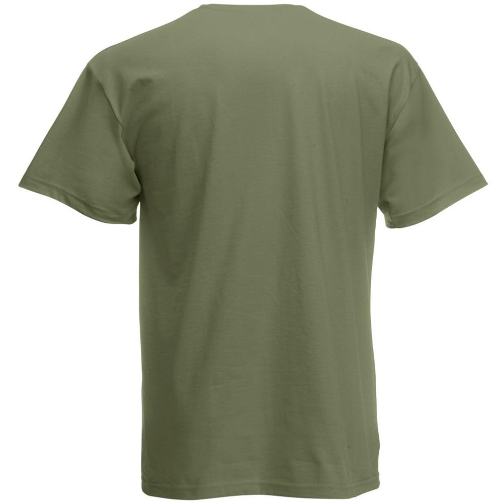 Fruit-Of-The-Loom-Camiseta-Basica-de-manga-corta-diseno-Original-BC340