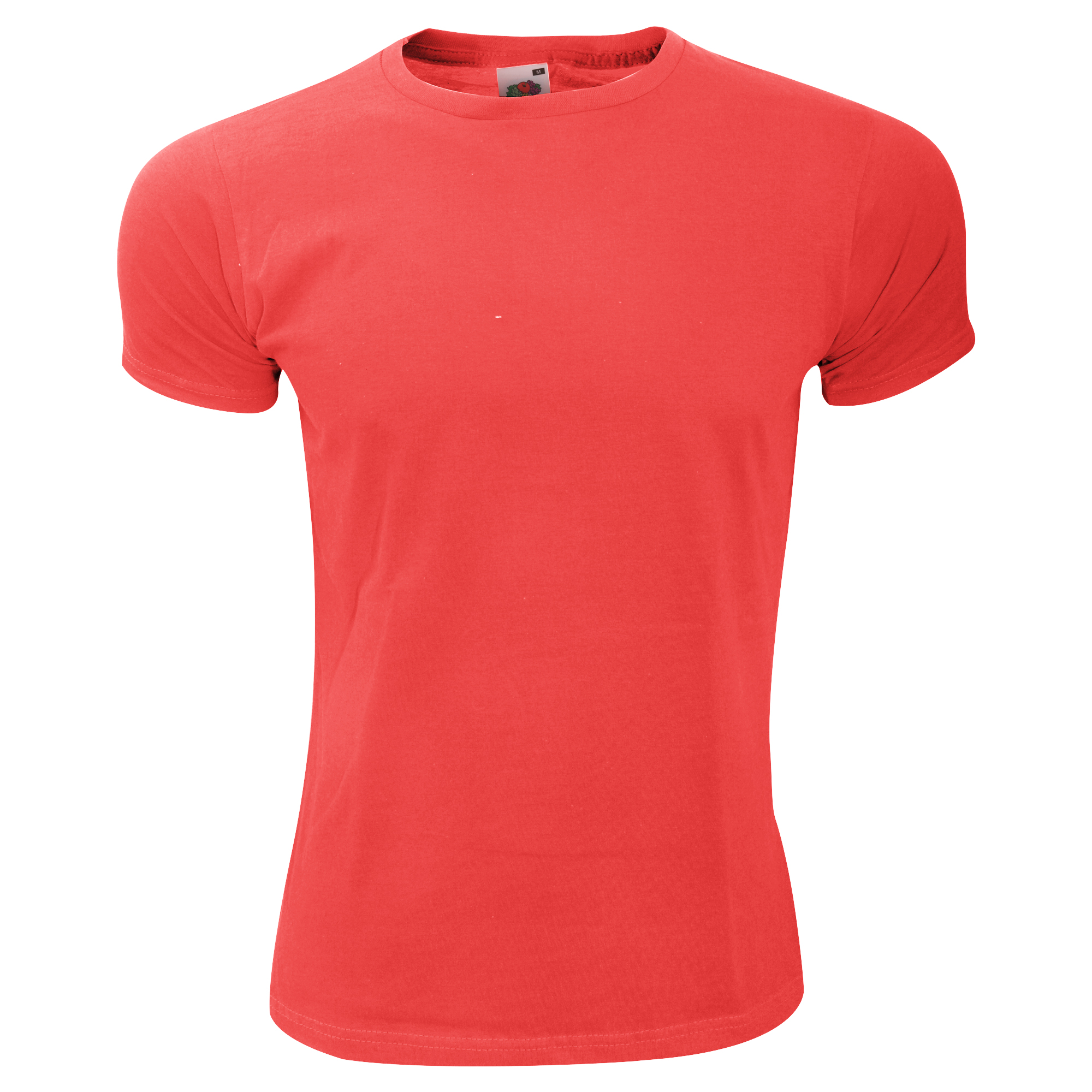 Fruit-Of-The-Loom-Mens-Fitted-Valueweight-Short-Sleeve-Slim-Fit-T-Shirt-BC348