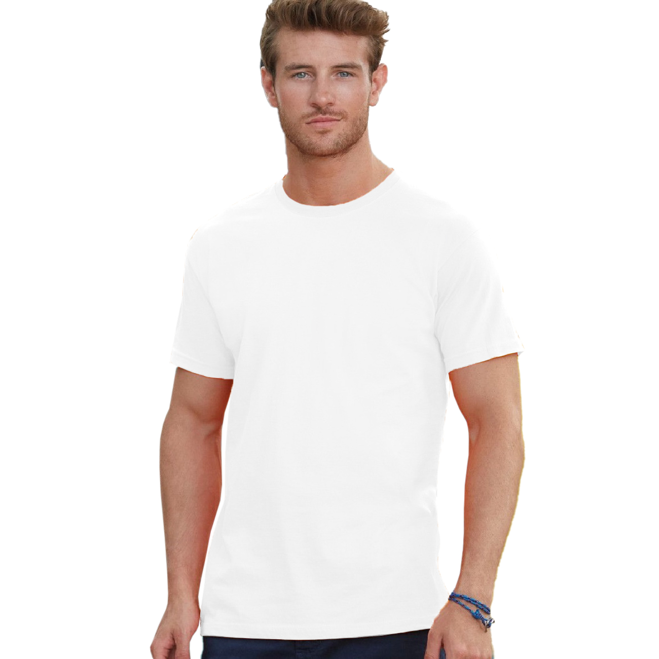 BC350 Fruit Of The Loom Mens Heavy Weight Cotton Short Sleeve T-Shirt//Tee
