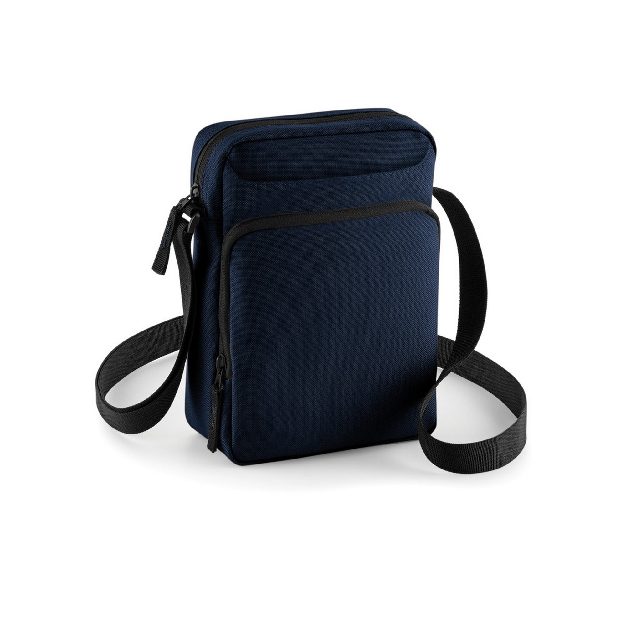 Bagbase Across Shoulder Strap Cross Body Bag (One Size) (French Navy)