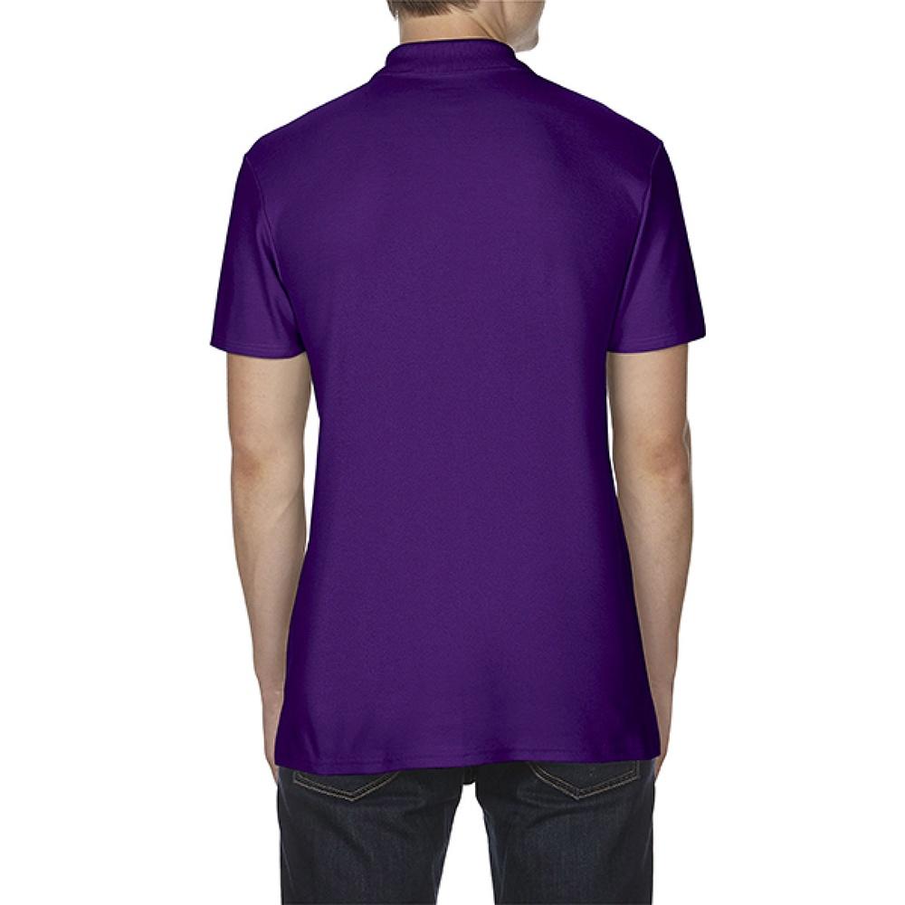 Gildan Softstyle Mens Short Sleeve Double Pique Polo Shirt (S) (Maroon)