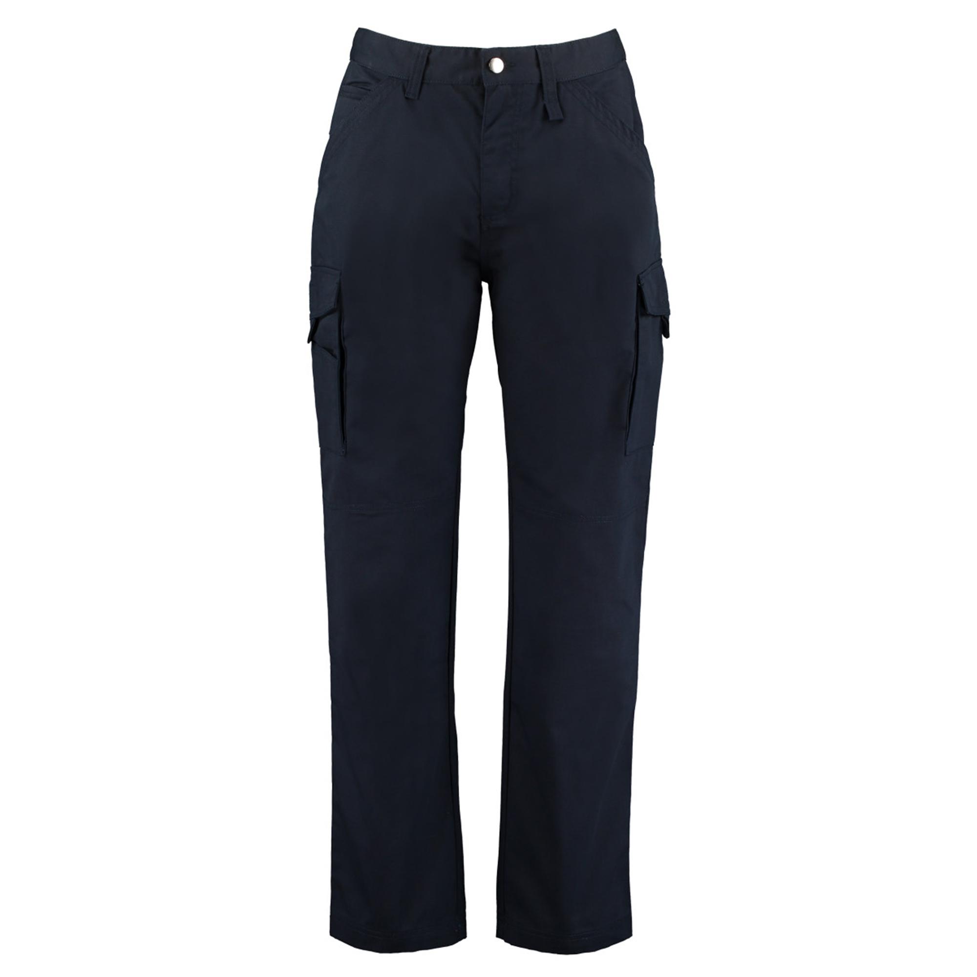 Kustom Kit Mens Workwear Trousers (38S) (Navy Blue)