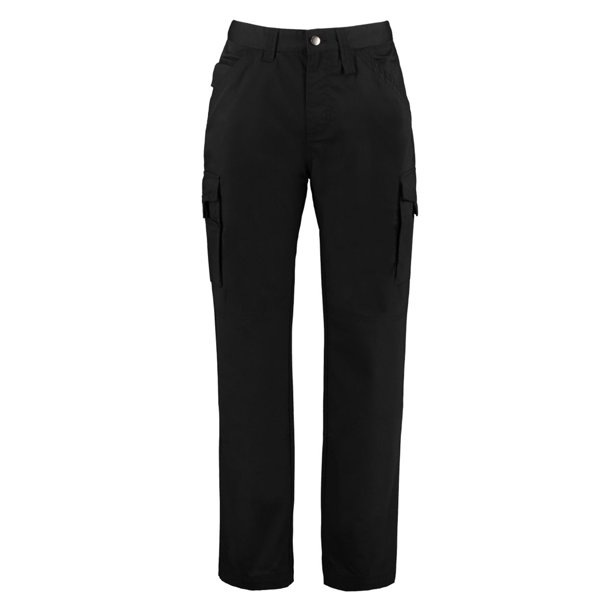 Kustom Kit Mens Workwear Trousers (30S) (Black)