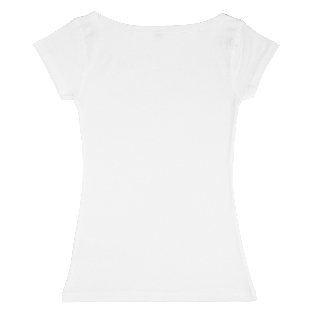 Nakedshirt Womens/Ladies Alice Boatneck Short Sleeve Tunic T-Shirt (L) (Wild Rose)