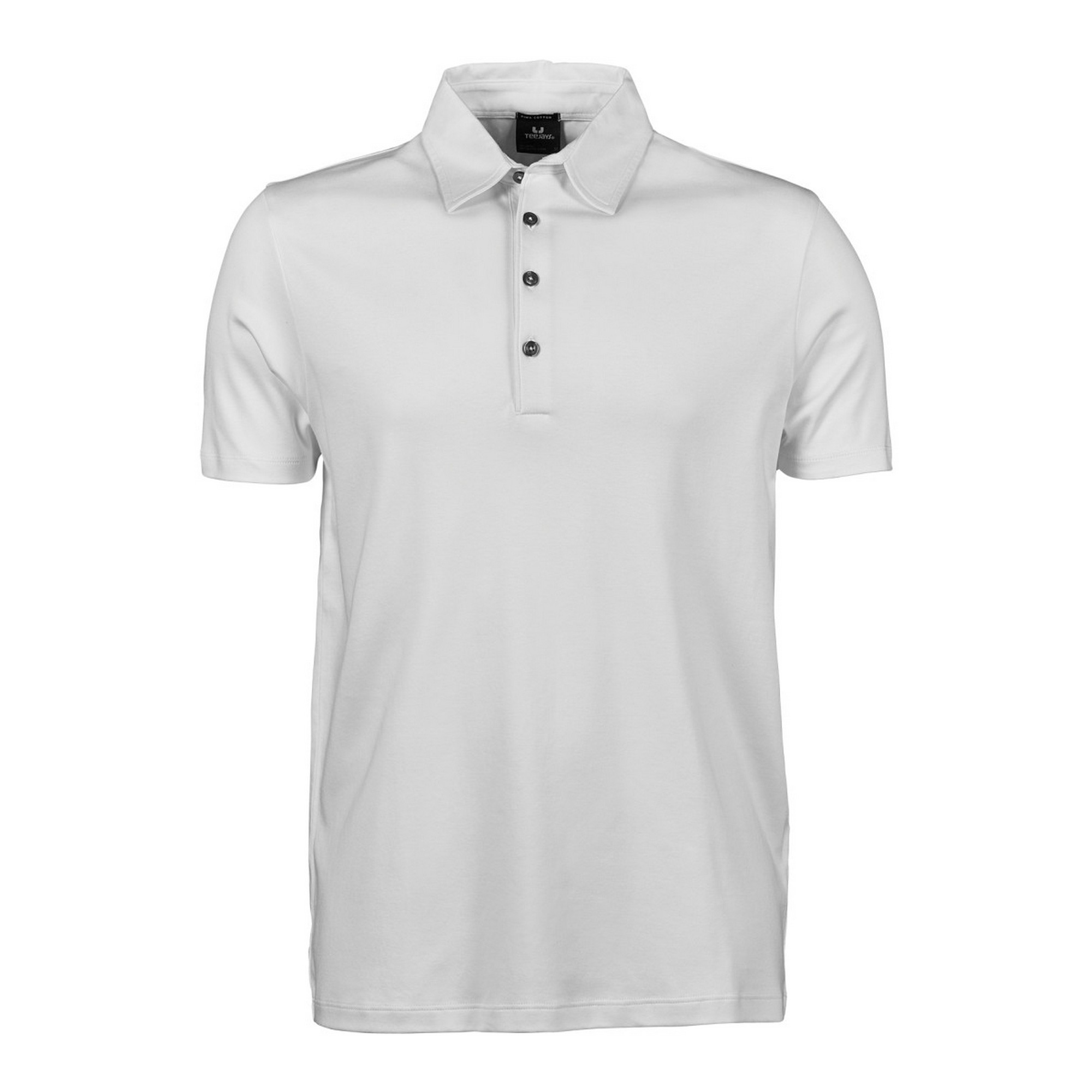 Tee Jays Mens Pima Short Sleeve Cotton Polo Shirt UK Size 2xl Dark Grey.  About this product. Picture 1 of 2  Picture 2 of 2 7dca9921403