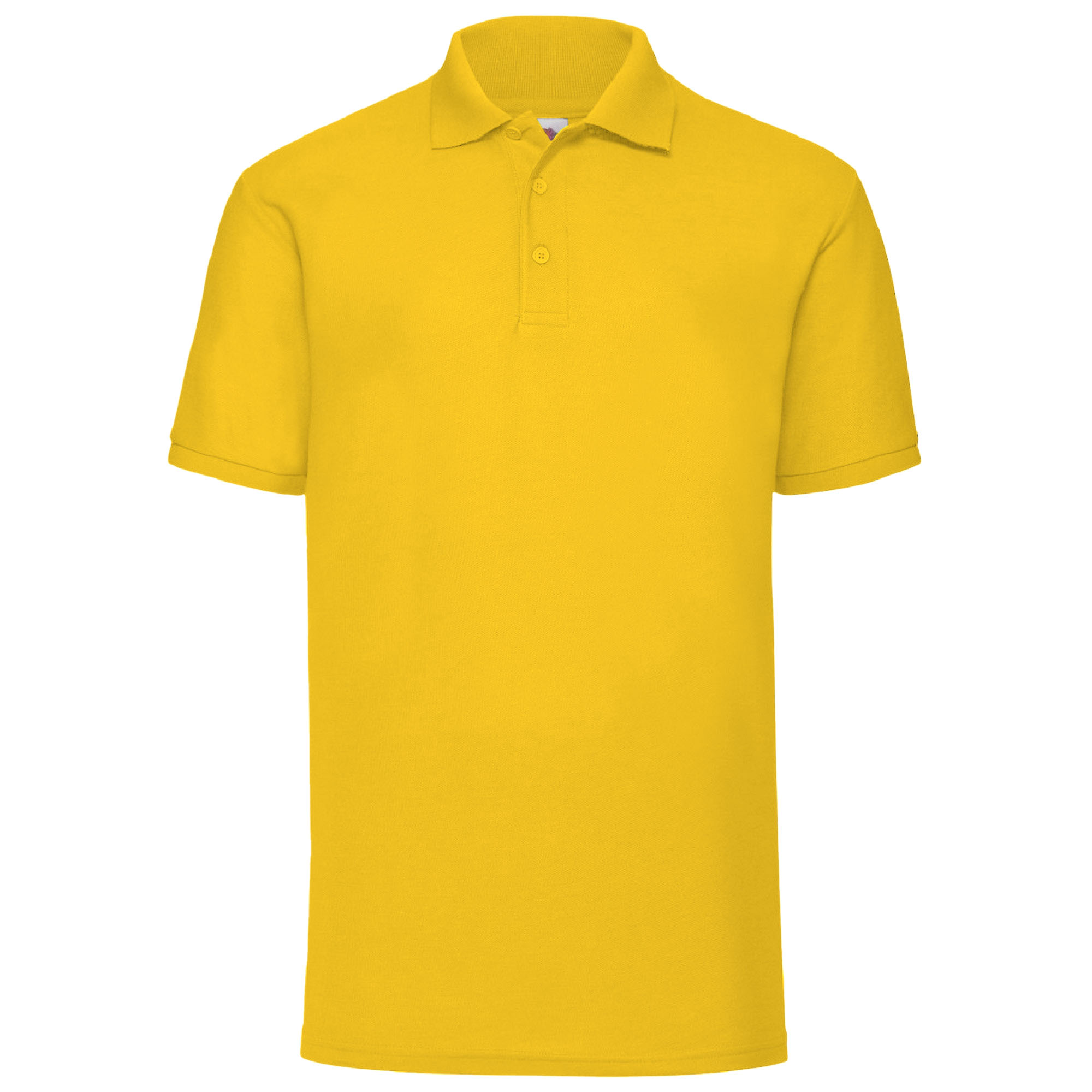 Polo-a-manches-courtes-Fruit-Of-The-Loom-pour-homme-BC388 miniature 7