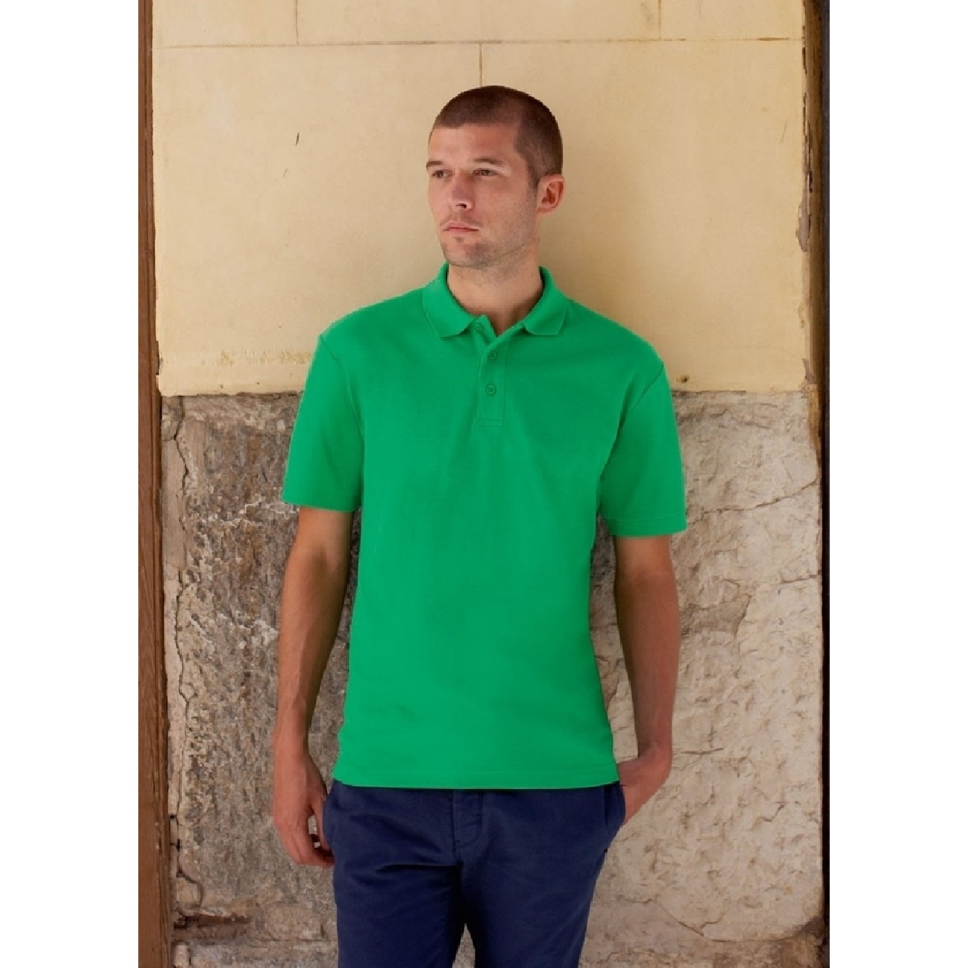 Polo-a-manches-courtes-Fruit-Of-The-Loom-pour-homme-BC388 miniature 35