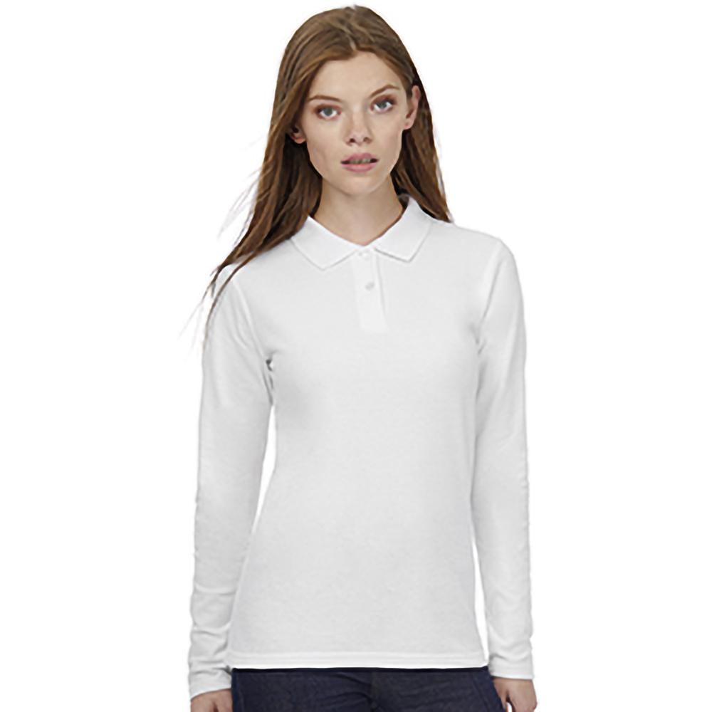 B-amp-C-ID-001-Womens-Ladies-Long-Sleeve-Polo-BC3944 thumbnail 17