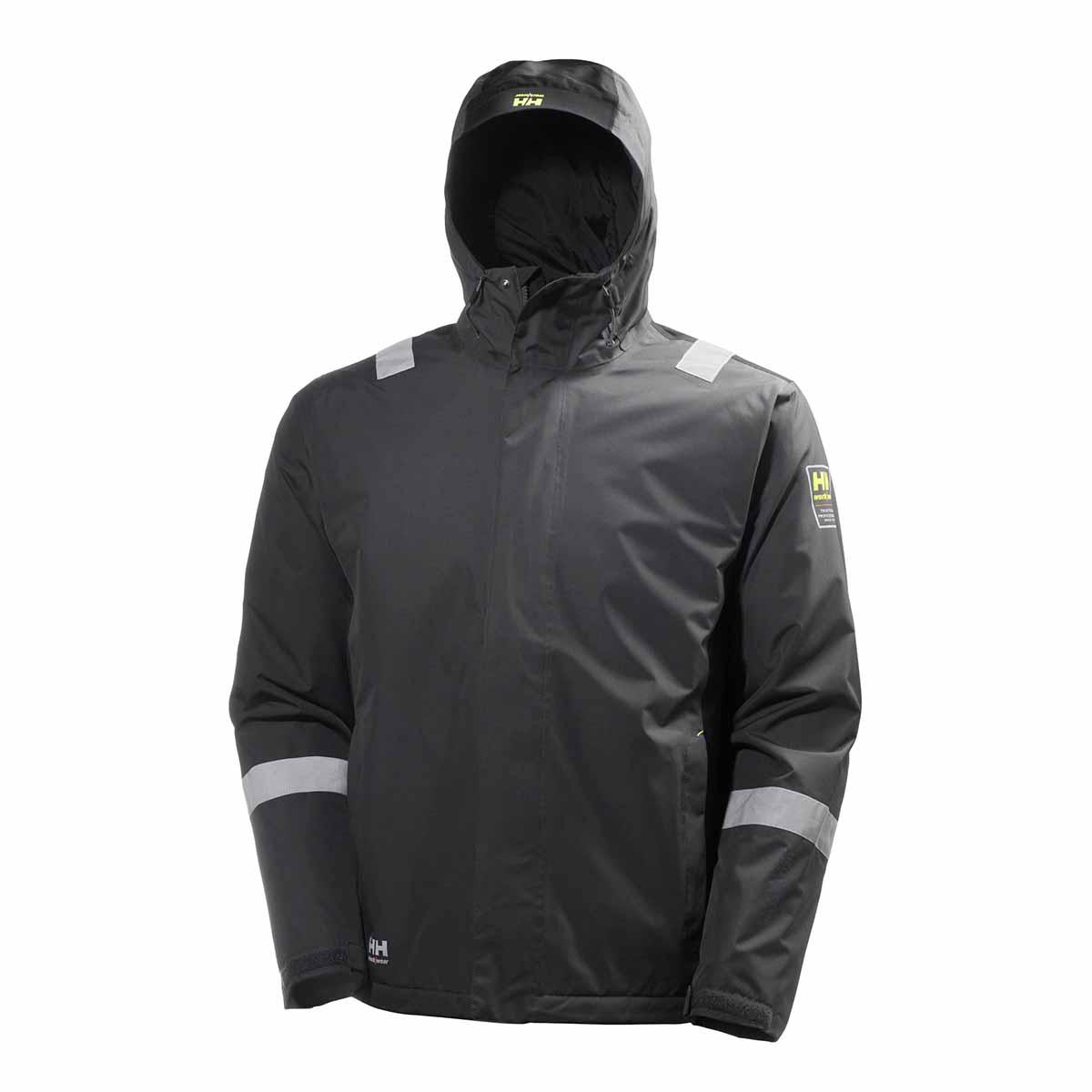 Helly Hansen Mens Aker Winter Jacket (2XL) (Egyptian Blue/Evening Blue)