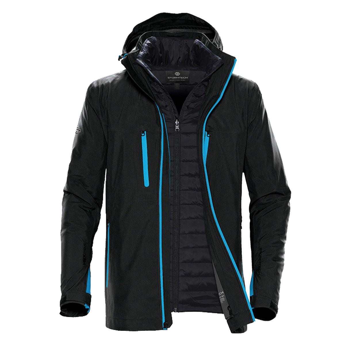 Stormtech Mens Matrix System Jacket (XL) (Black/Carbon)
