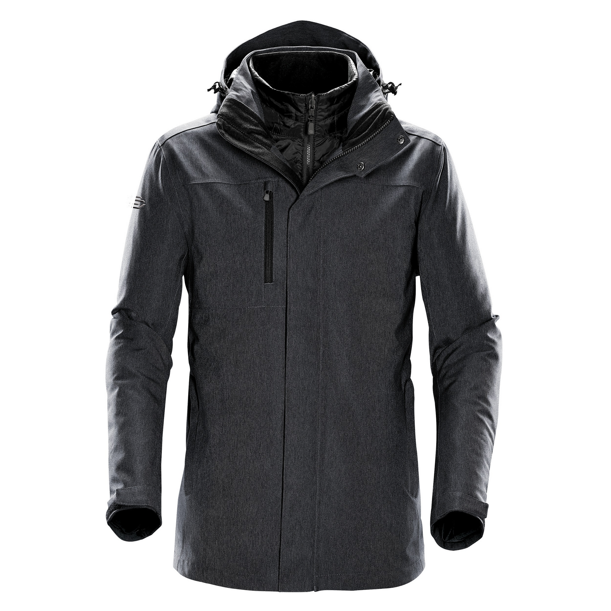 Stormtech Mens Avalanche System Jacket (2XL) (Charcoal Twill)