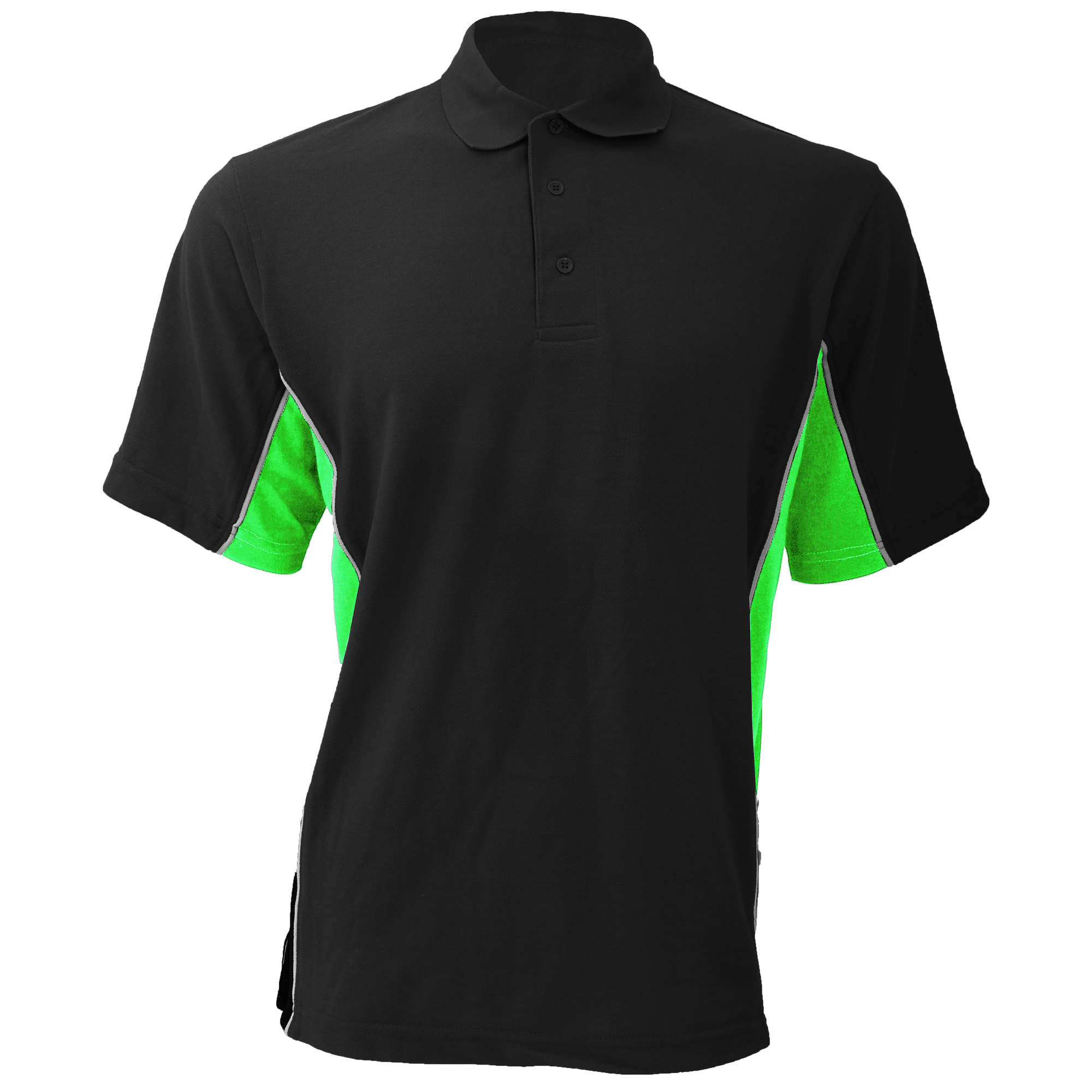 Gamegear-Mens-Track-Pique-Short-Sleeve-Polo-Shirt-Top-BC412