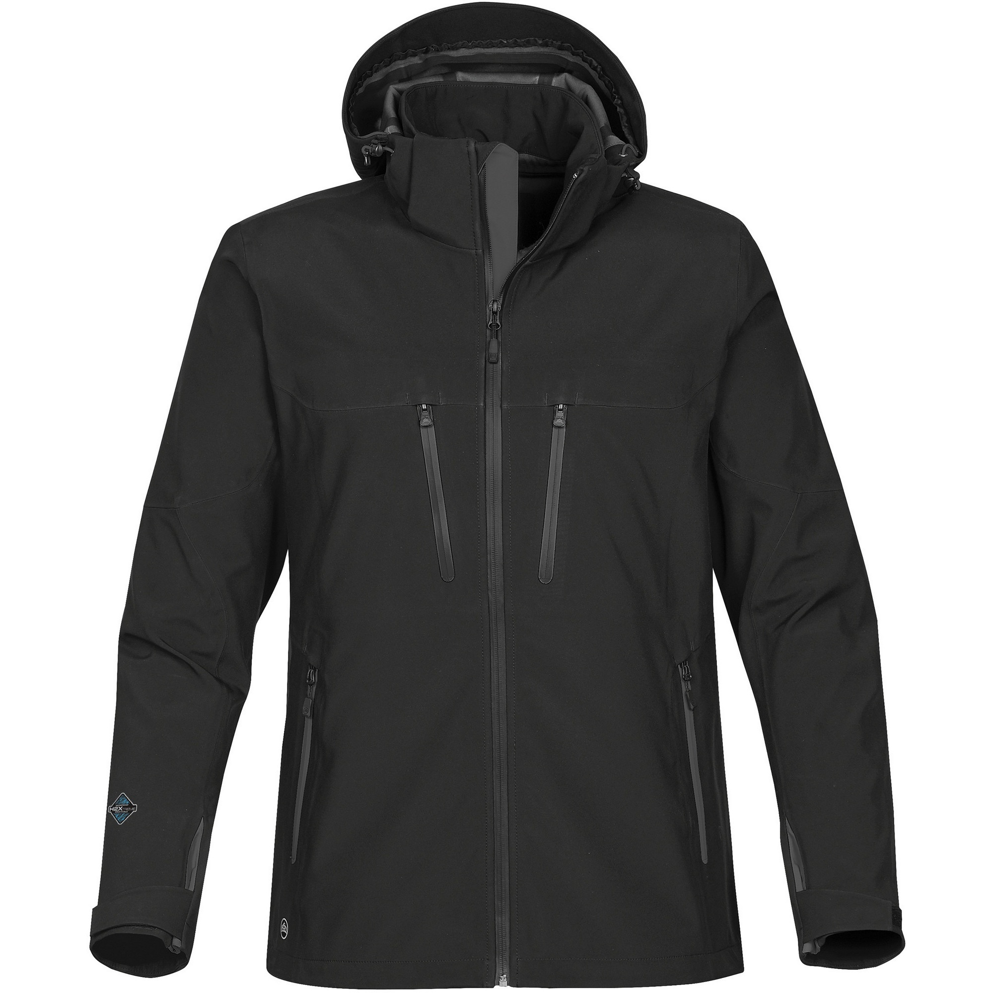 Stormtech Mens Patrol Softshell Jacket (M) (Black/Carbon)