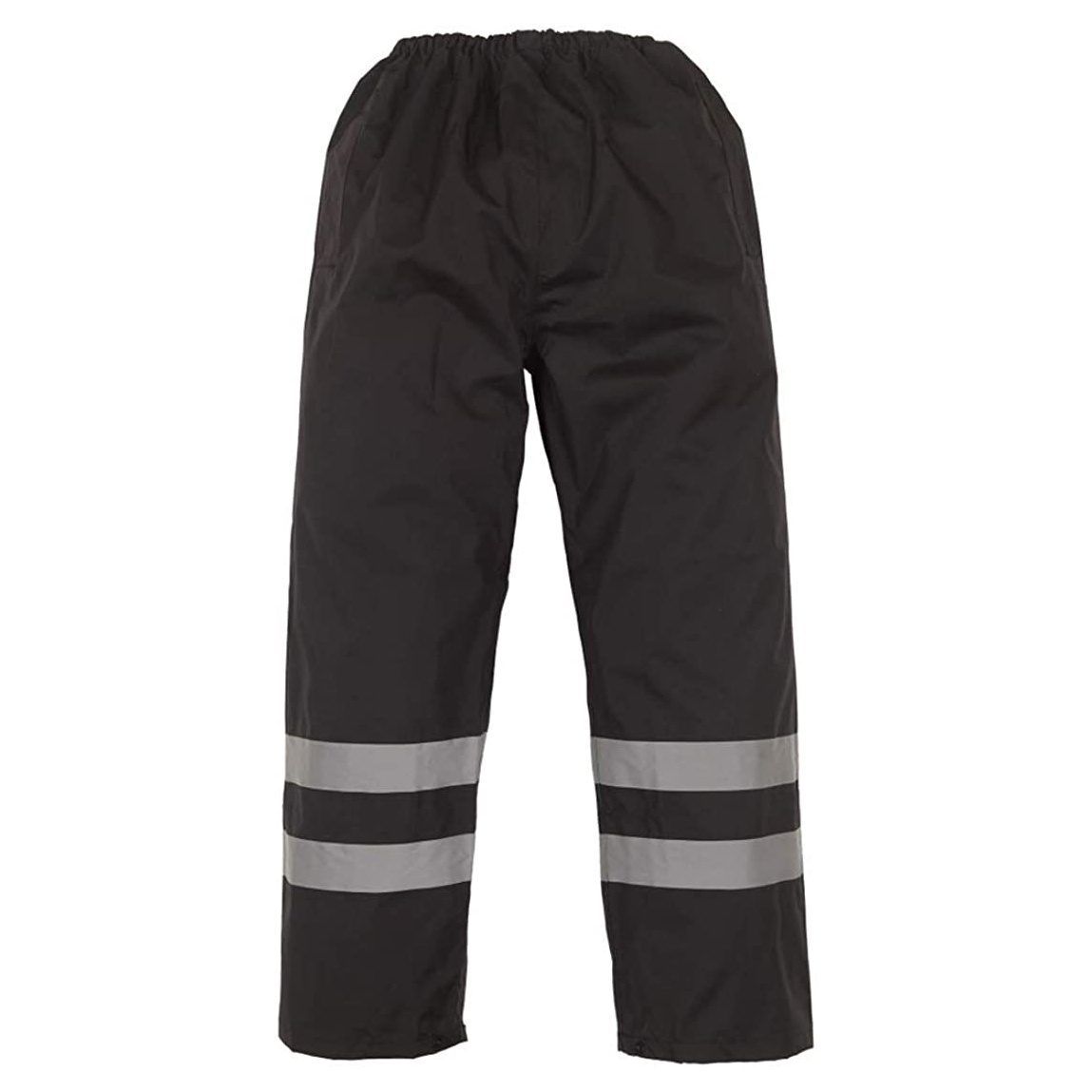Yoko Mens Hi-Vis Waterproof Contractor Over Trousers (Pack of 2) (2XL) (Hi-Vis Yellow)