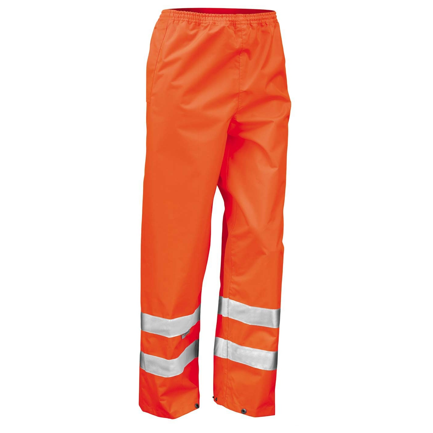 Result Mens Hi-Vis Trousers / Pants (Pack of 2) (2XL) (Hi Vis Orange)