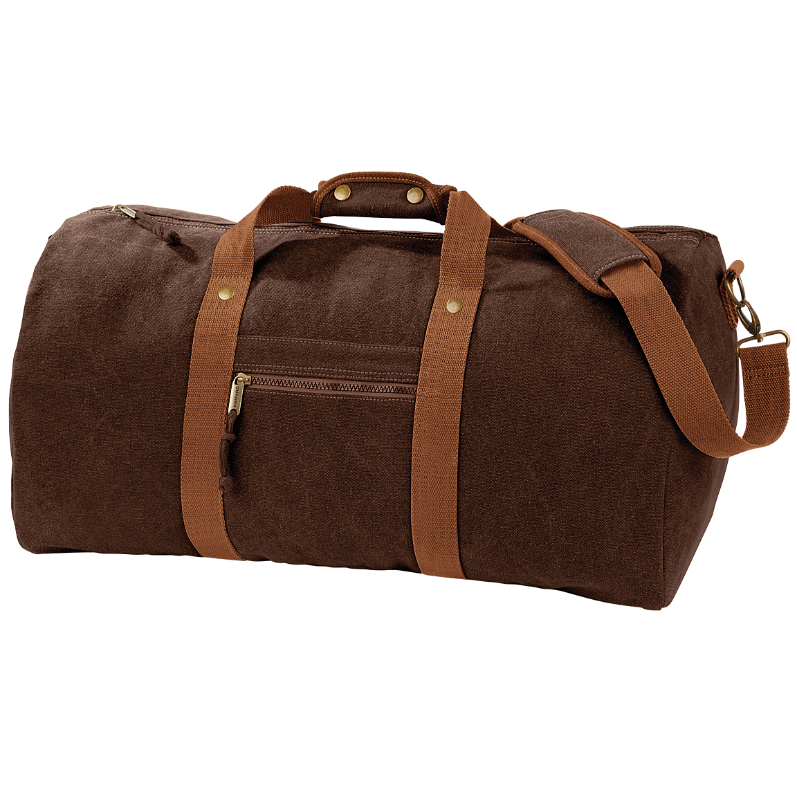Quadra Vintage Canvas Holdall Duffle Bag - 45 Litres (Pack of 2) (One Size) (Sahara)