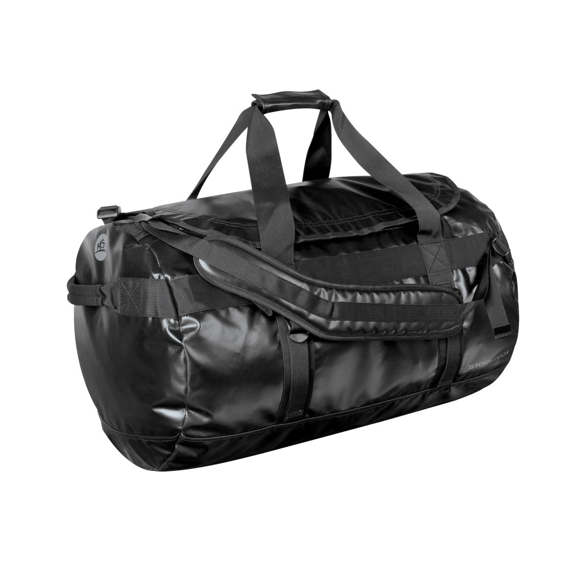 Stormtech Waterproof Gear Holdall Bag (Large) (Pack of 2) (One Size) (Black/Black)