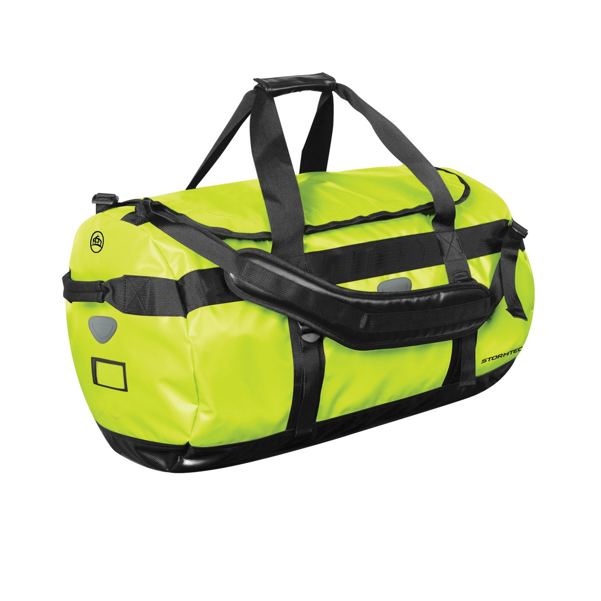 Stormtech Waterproof Gear Holdall Bag (Large) (Pack of 2) (One Size) (Hi Vis Green/Black)