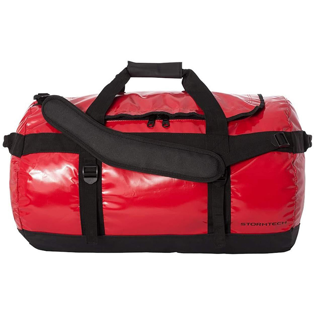 Stormtech Waterproof Gear Holdall Bag (Large) (Pack of 2) (One Size) (Bold Red/Black)