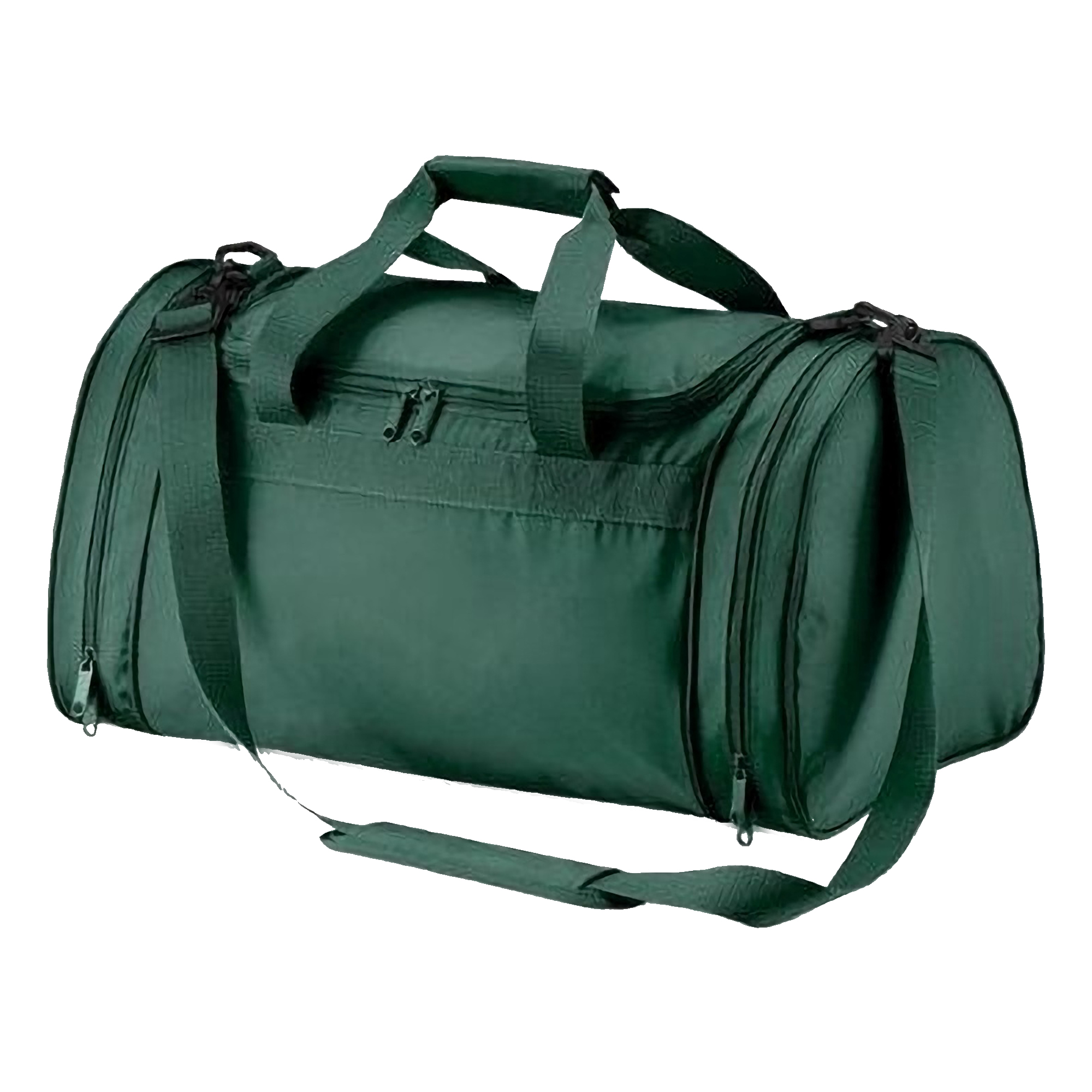 Quadra Sports Holdall Duffle Bag - 32 Litres (Pack of 2) (One Size) (Bottle Green)
