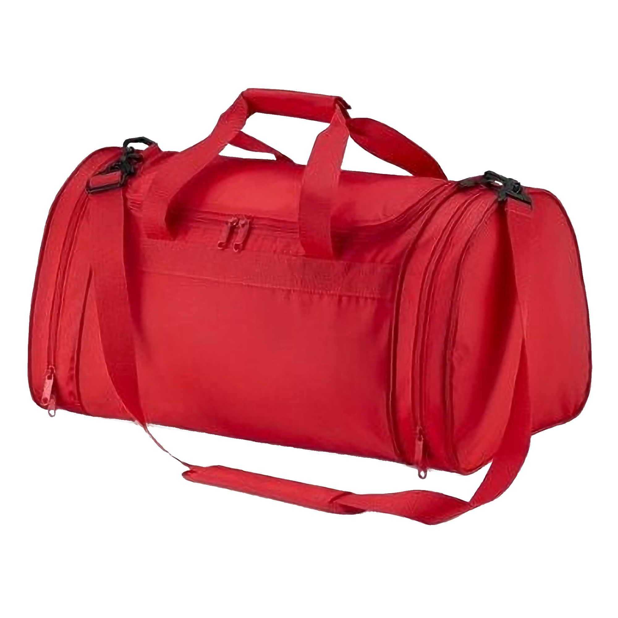 Quadra Sports Holdall Duffle Bag - 32 Litres (Pack of 2) (One Size) (Bright Red)