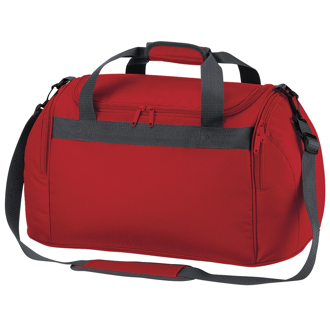 Bagbase Freestyle Holdall / Duffle Bag (26 Litres) (Pack of 2) (One Size) (Classic Red)