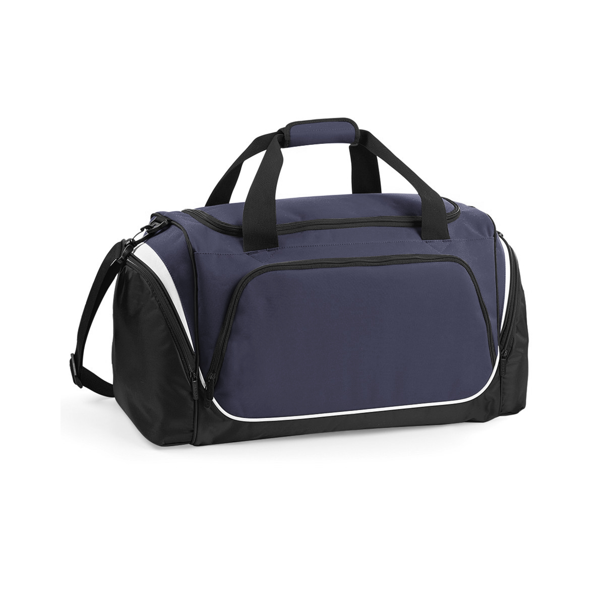 Quadra Pro Team Holdall / Duffle Bag (55 Litres) (Pack of 2) (One Size) (French Navy/Black/White)