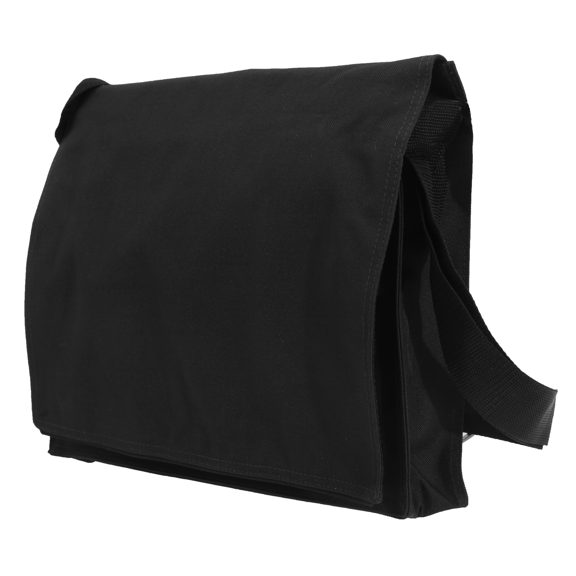Bagbase Conference Messenger Bag (7 Litres) (Pack of 2) (One Size) (Black)