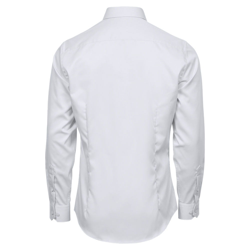 Tee Jays Mens Luxury Comfort Fit Shirt (S) (Light Blue/Blue)