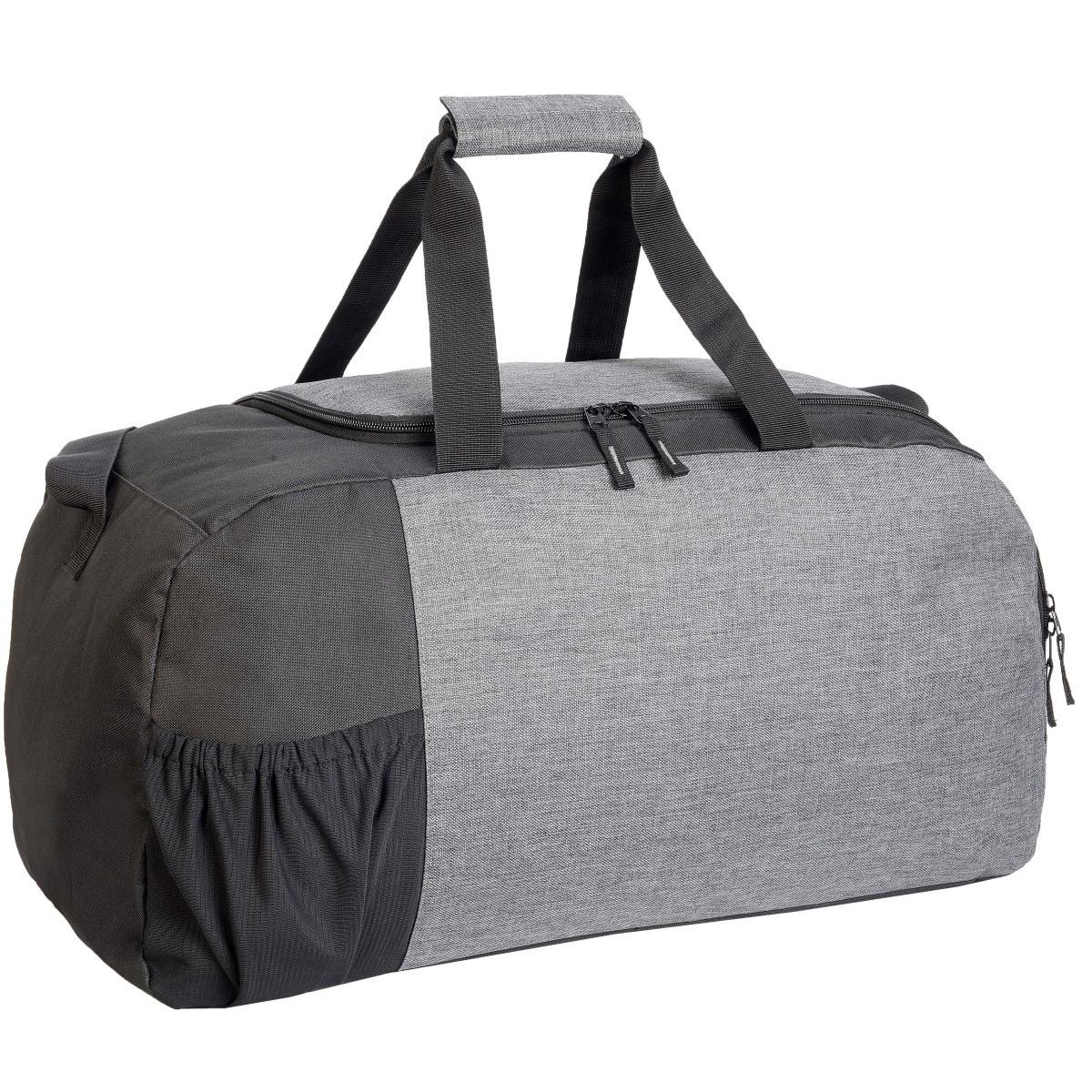 Shugon Marathon Sports Holdall (One Size) (Grey Melange/Black)