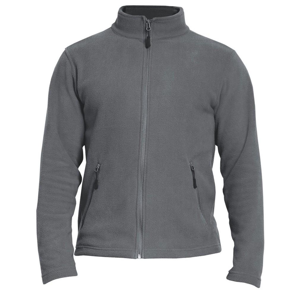 Gildan Adults Unisex Hammer Micro-Fleece Jacket (S) (Charcoal)