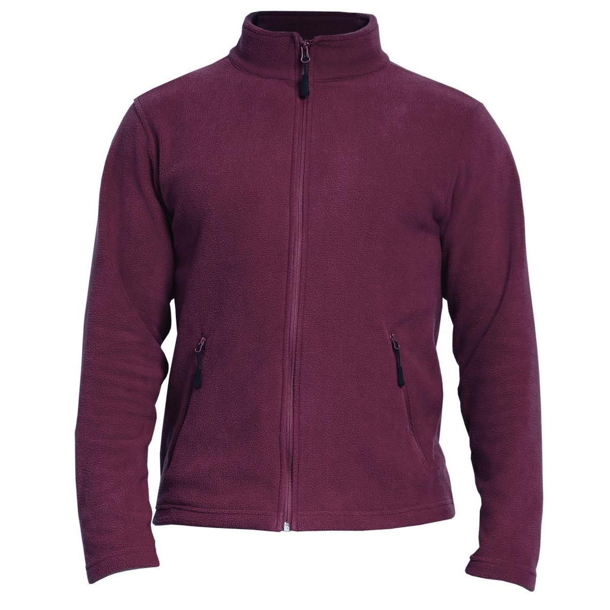 Gildan Adults Unisex Hammer Micro-Fleece Jacket (M) (Maroon)