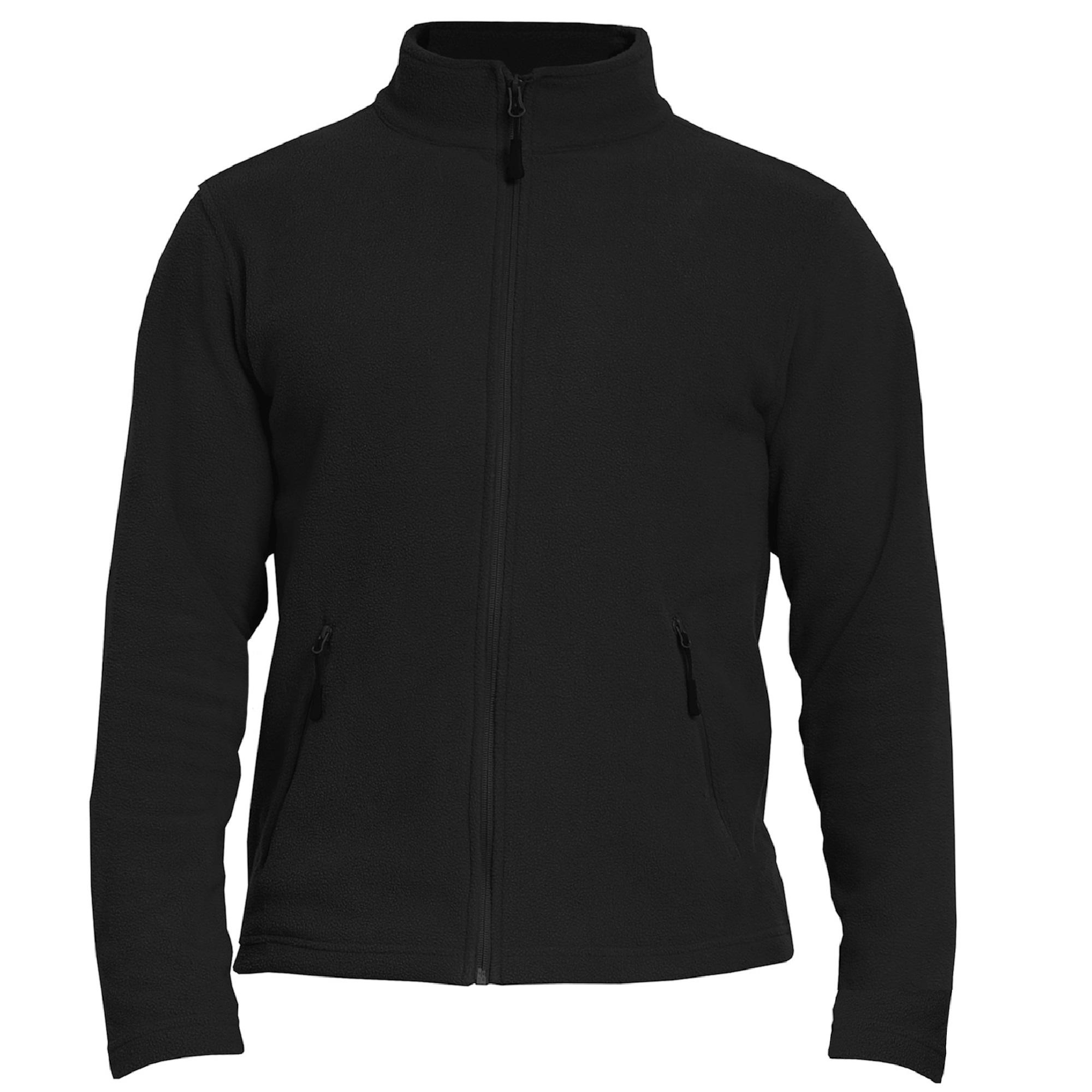 Gildan Adults Unisex Hammer Micro-Fleece Jacket (L) (Black)