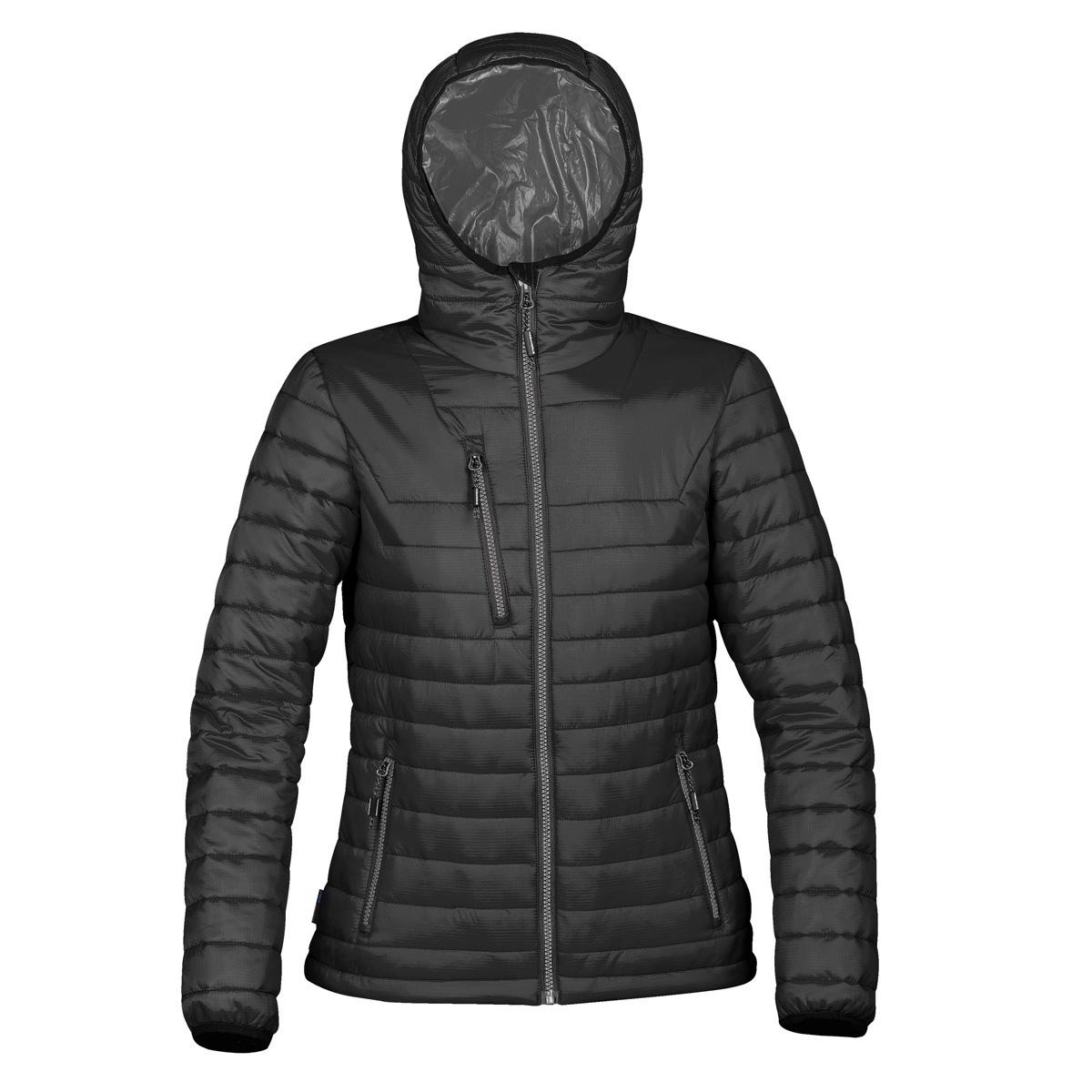 Stormtech Womens/Ladies Gravity Thermal Jacket (M) (Black/Charcoal)