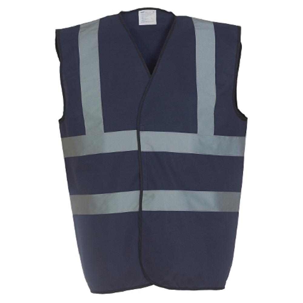 Yoko Mens High-Vis Waistcoat (M) (Pink)