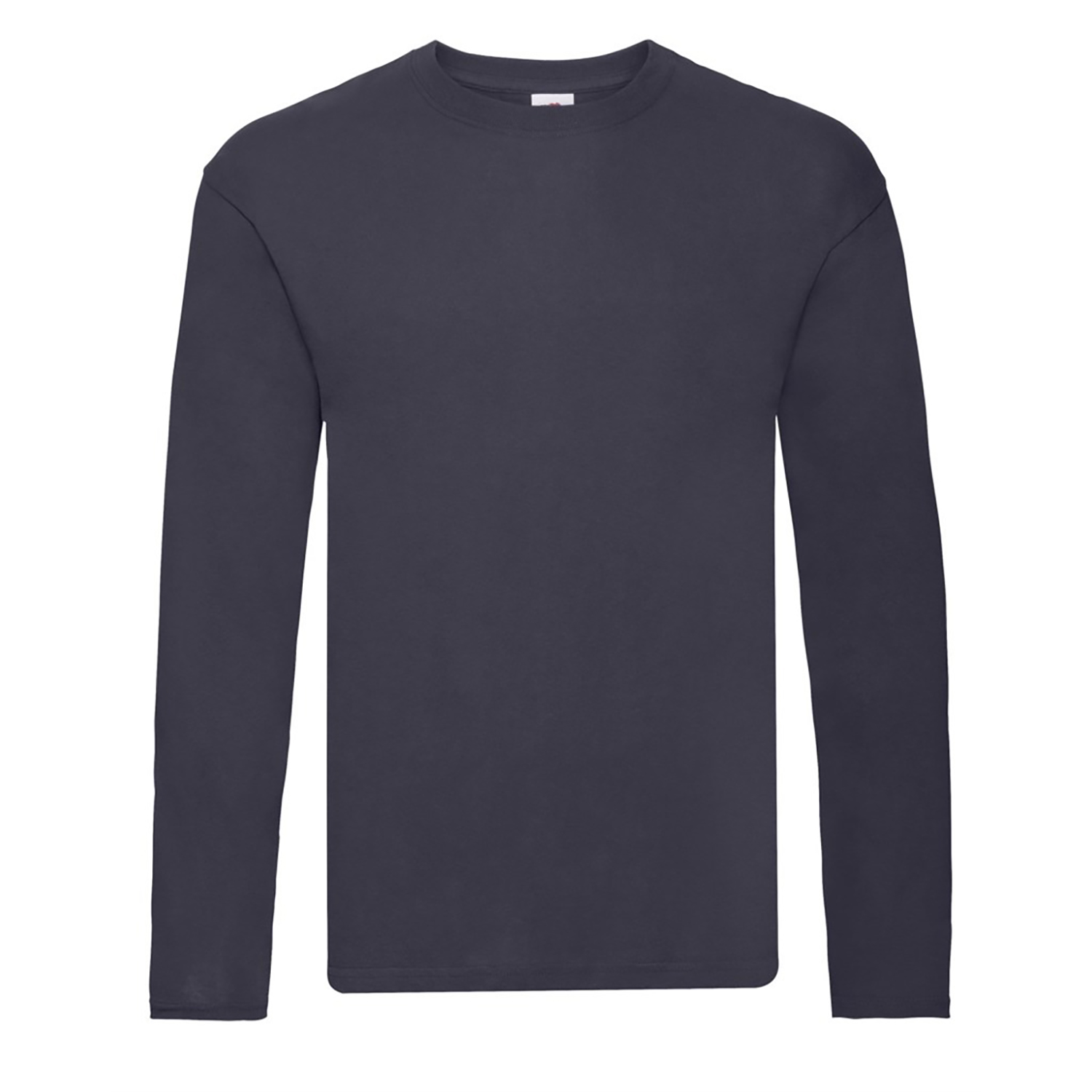 Fruit Of The Loom Mens R Long-Sleeved T-Shirt (XL) (Red)