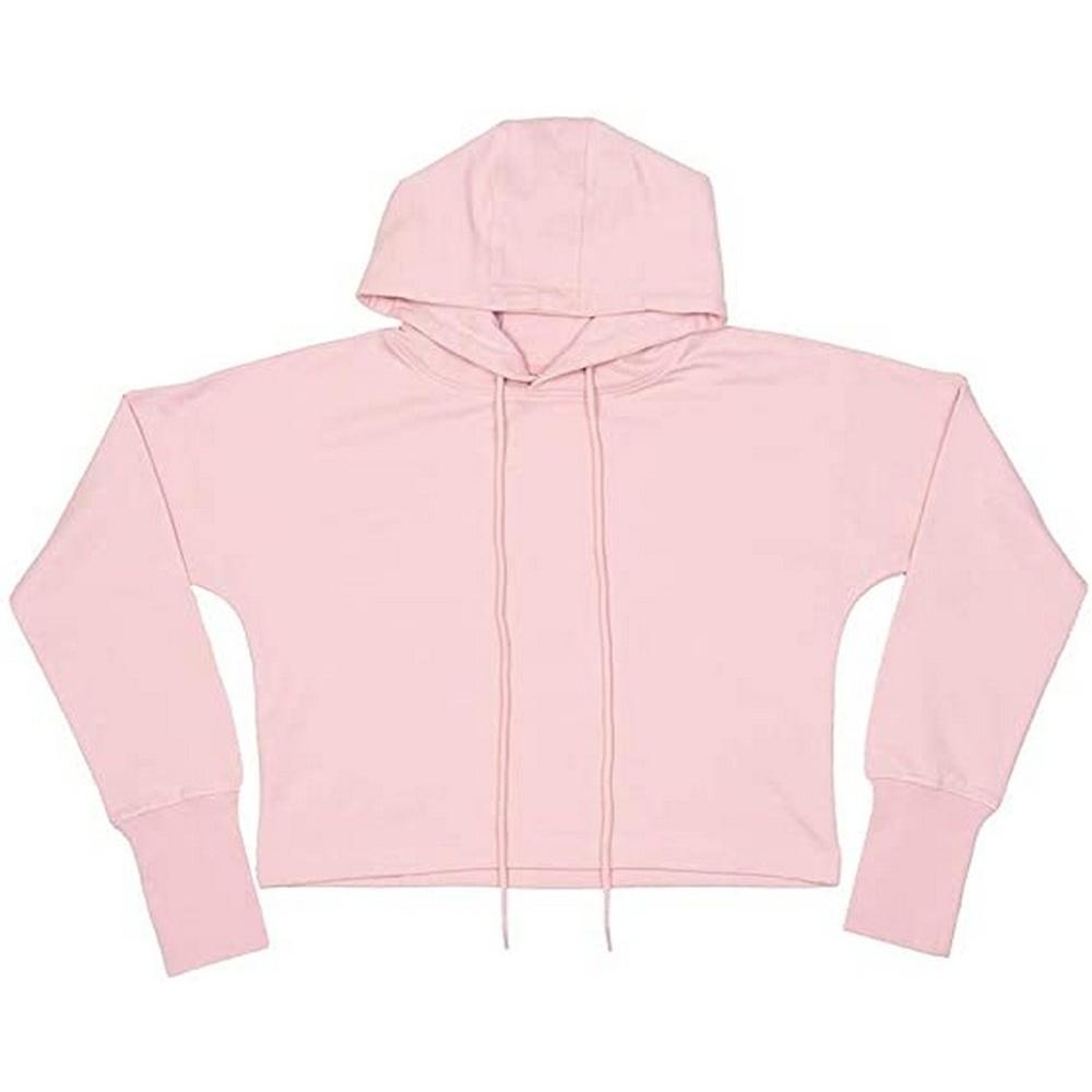 Mantis Womens/Ladies Cropped Crop Top (XS) (Pastel Pink)