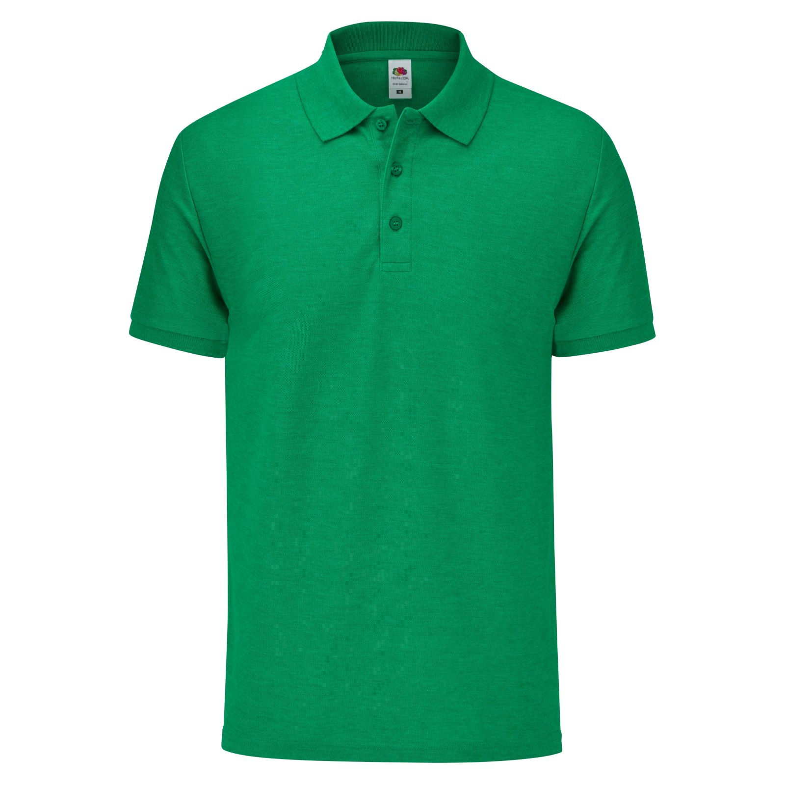 Fruit of the Loom Mens Tailored Polo Shirt (L) (Bottle Green)