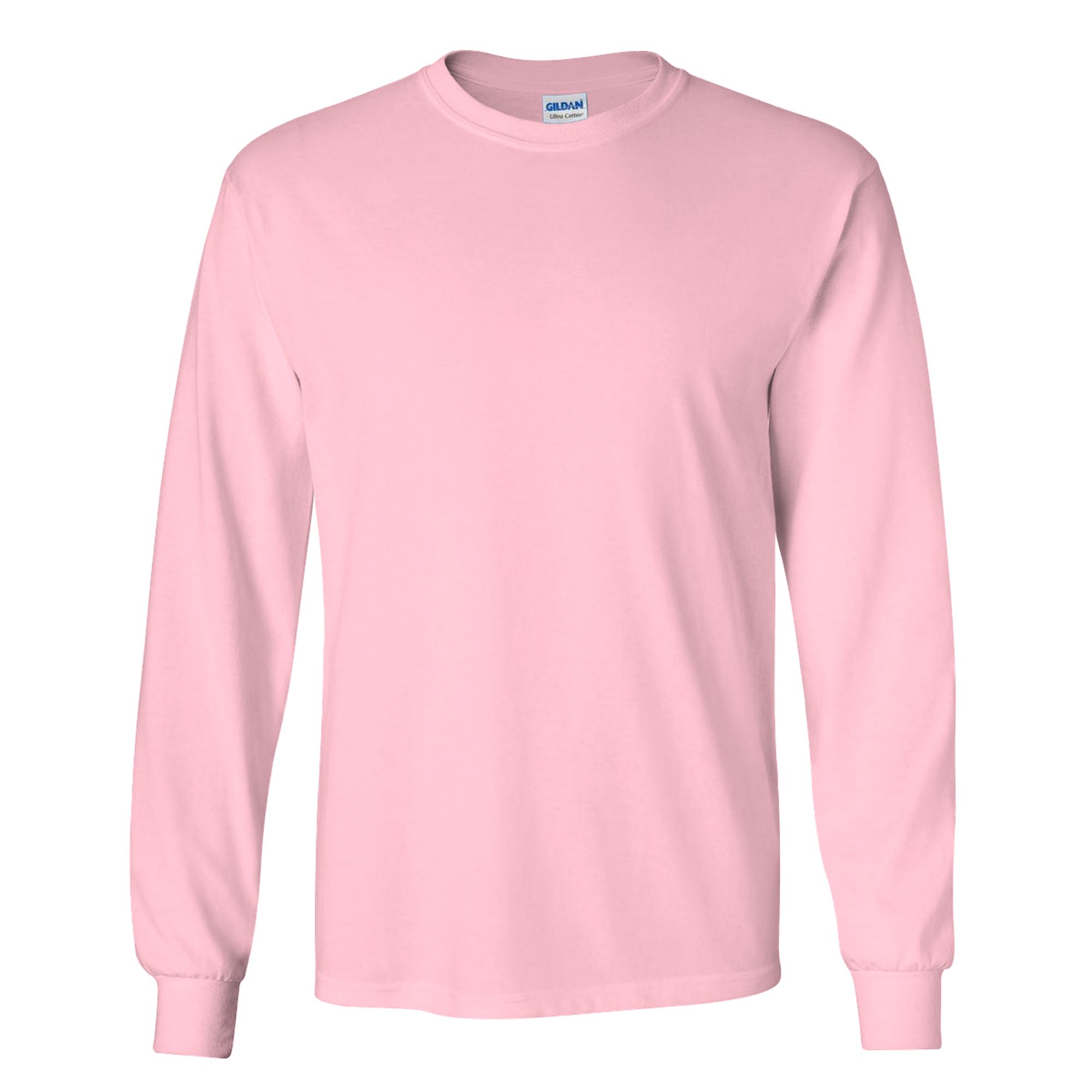 Gildan-Camiseta-basica-de-manga-larga-para-hombre-22-colores-diferentes