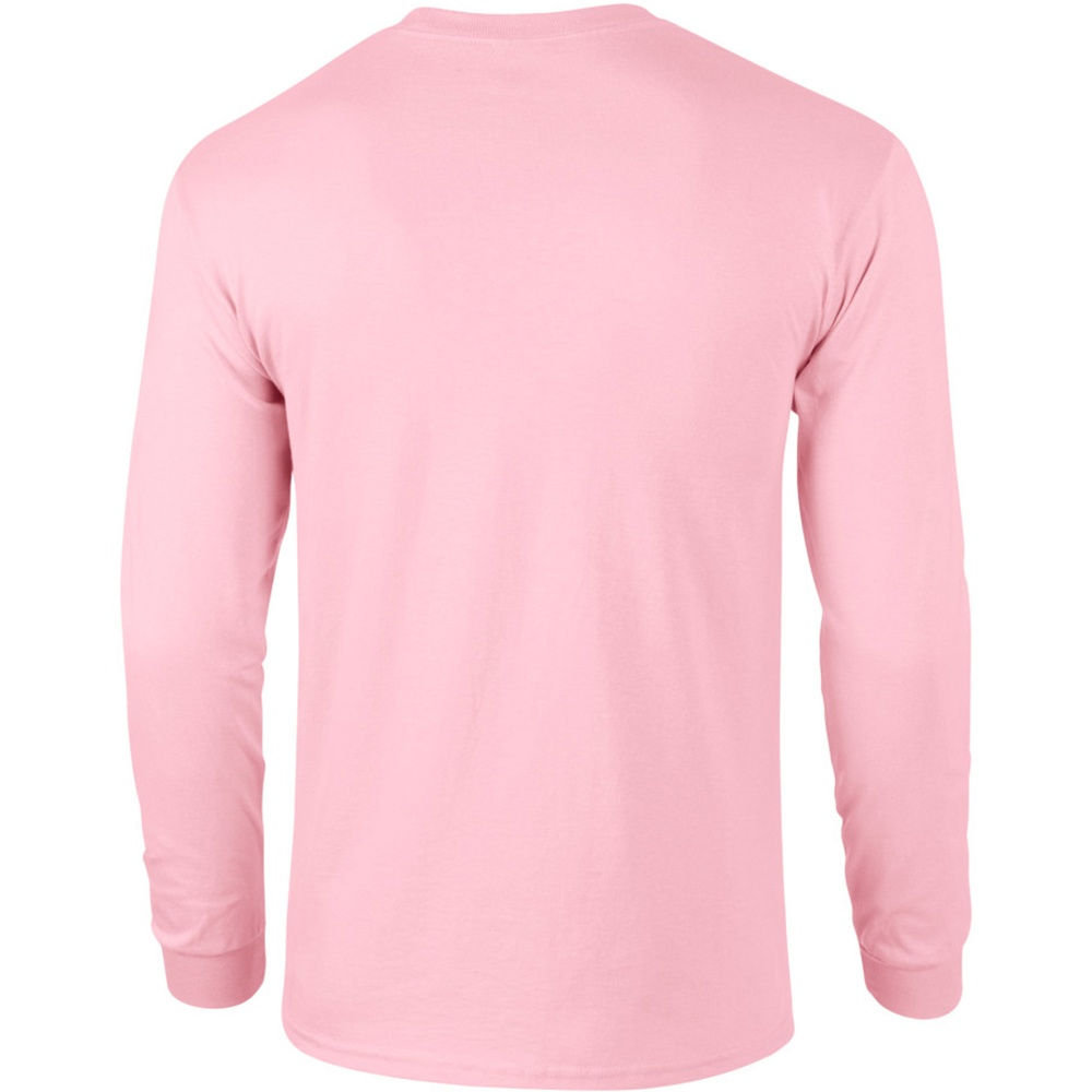 miniature 8 - T-shirt-uni-a-manches-longues-Gildan-100-coton-pour-homme-S-2XL-BC477