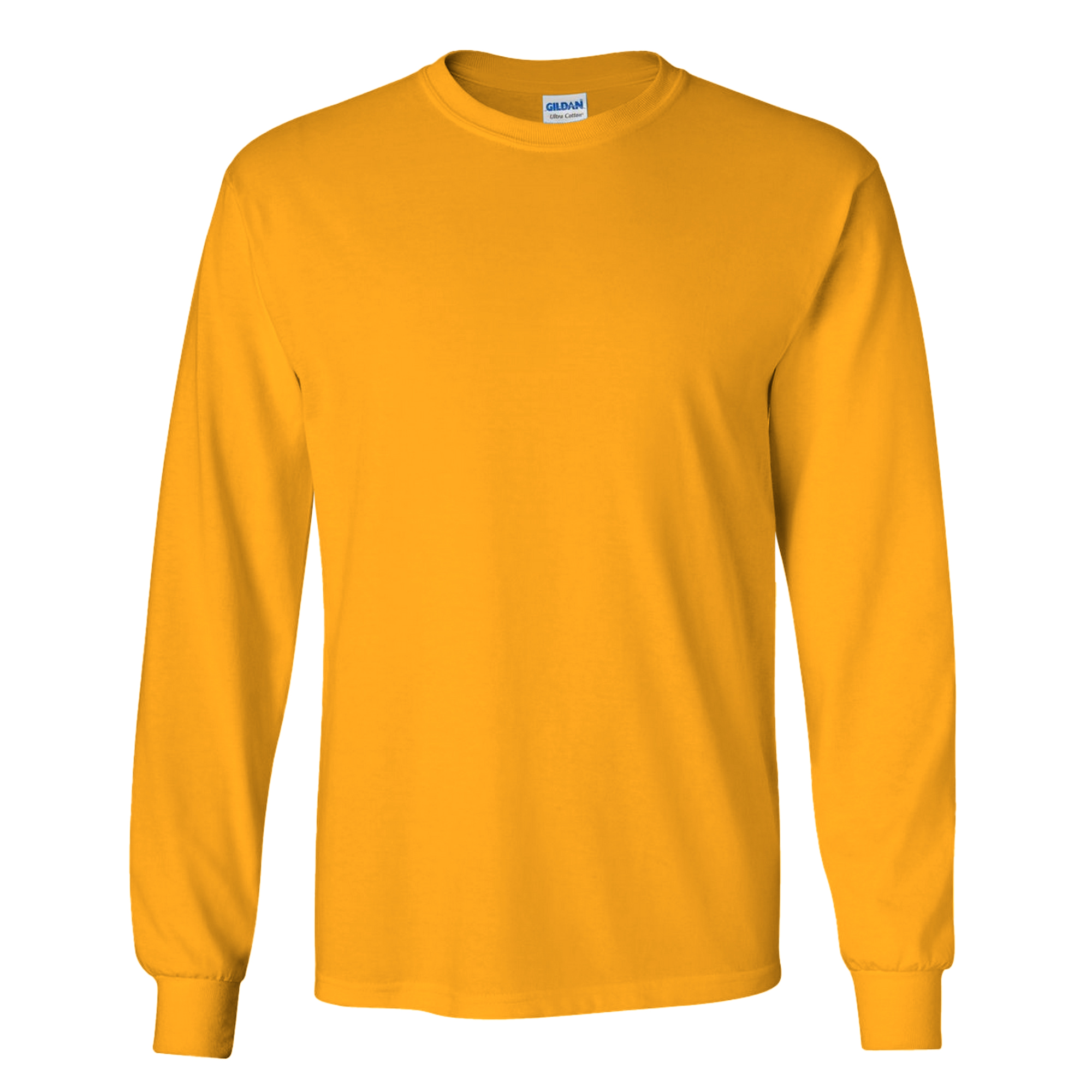 miniature 9 - T-shirt-uni-a-manches-longues-Gildan-100-coton-pour-homme-S-2XL-BC477