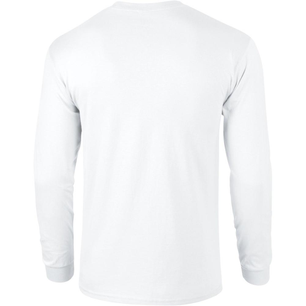 miniature 3 - T-shirt uni à manches longues Gildan, 100% coton, pour homme (S-2XL) (BC477)