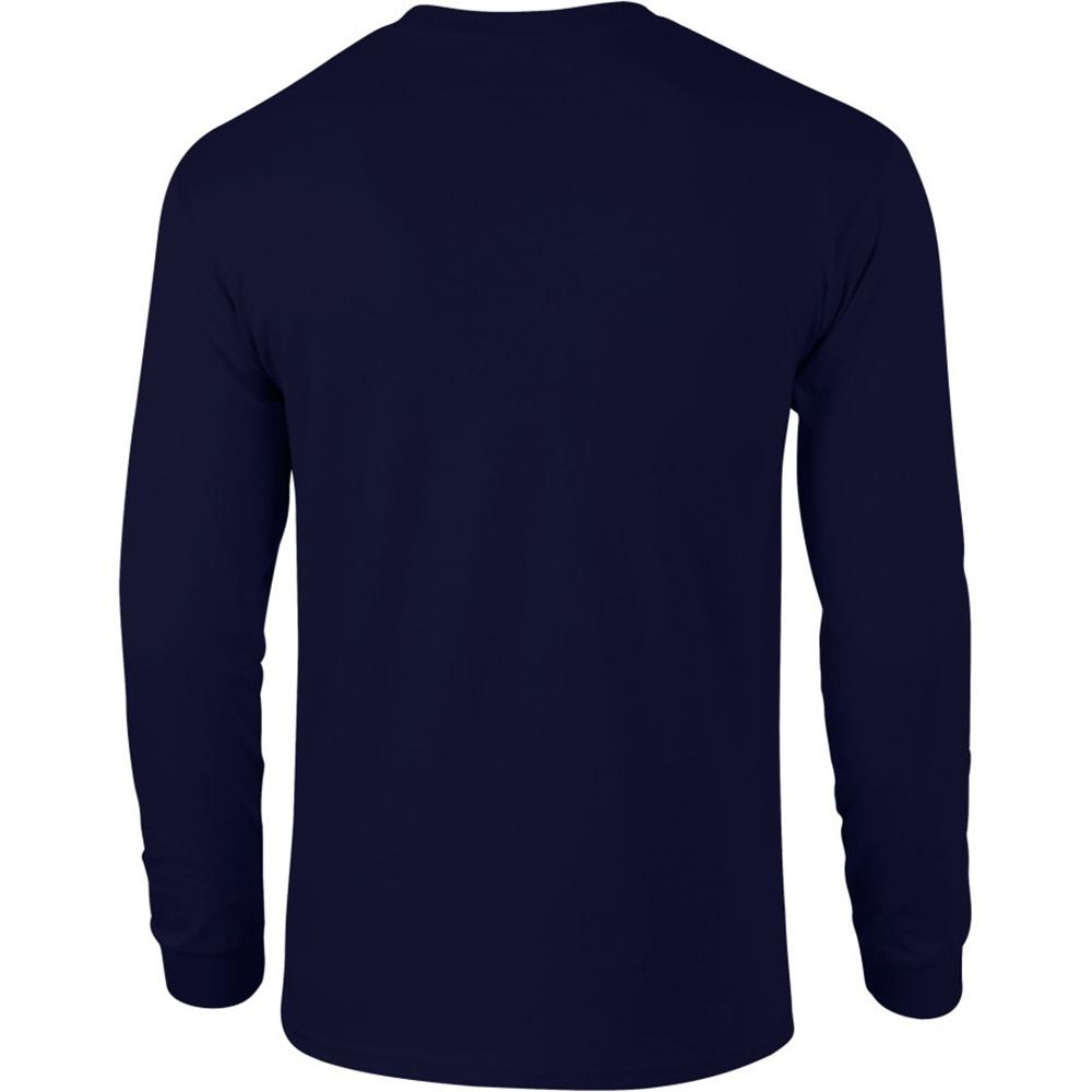 miniature 87 - T-shirt-uni-a-manches-longues-Gildan-100-coton-pour-homme-S-2XL-BC477