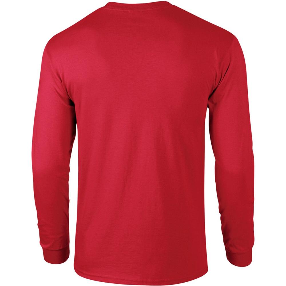 miniature 97 - T-shirt-uni-a-manches-longues-Gildan-100-coton-pour-homme-S-2XL-BC477