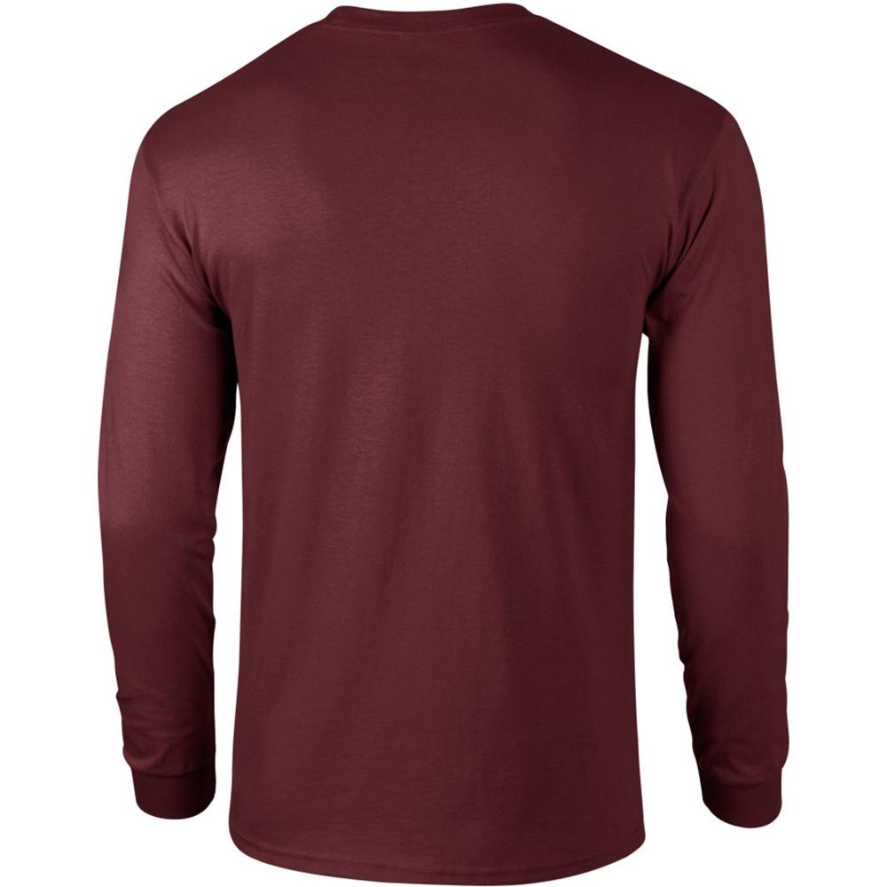 miniature 101 - T-shirt-uni-a-manches-longues-Gildan-100-coton-pour-homme-S-2XL-BC477