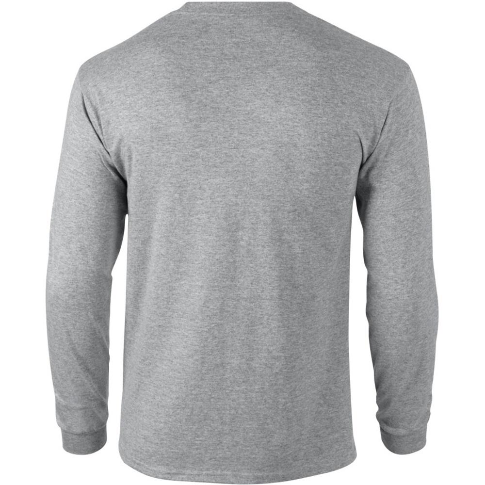 miniature 103 - T-shirt-uni-a-manches-longues-Gildan-100-coton-pour-homme-S-2XL-BC477