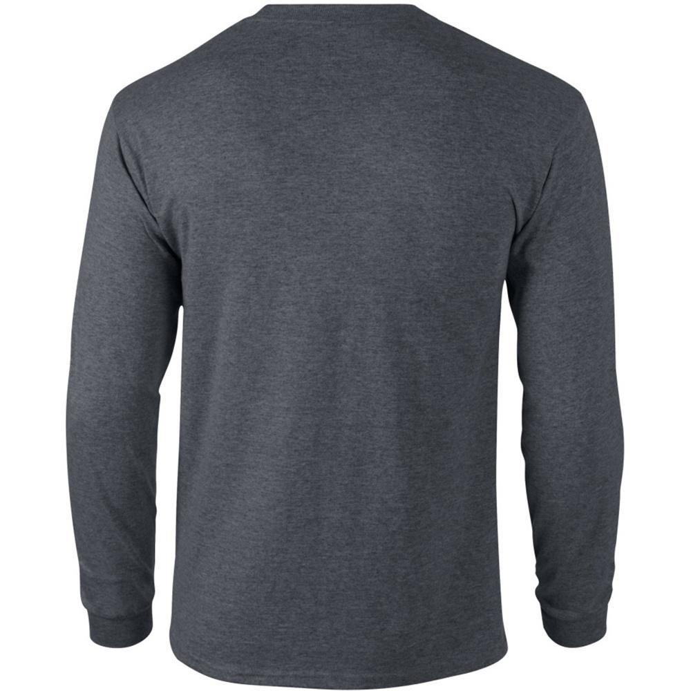 miniature 36 - T-shirt-uni-a-manches-longues-Gildan-100-coton-pour-homme-S-2XL-BC477