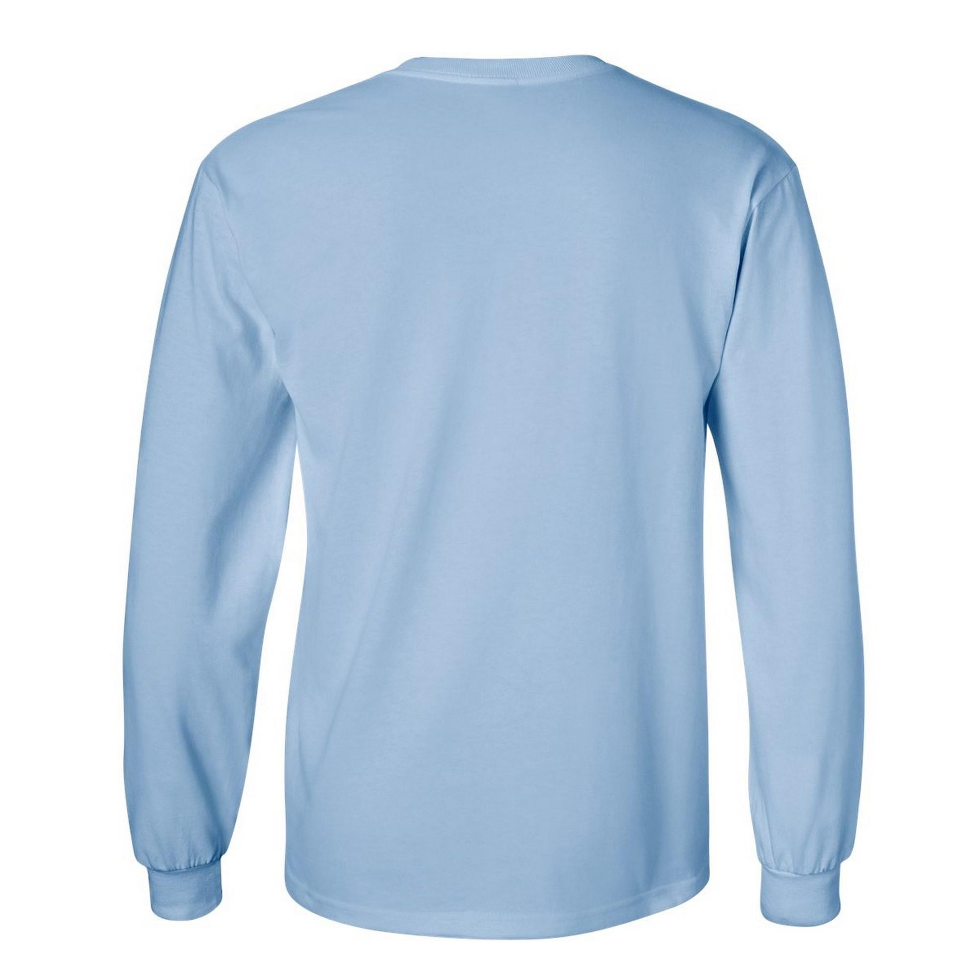 miniature 72 - T-shirt-uni-a-manches-longues-Gildan-100-coton-pour-homme-S-2XL-BC477