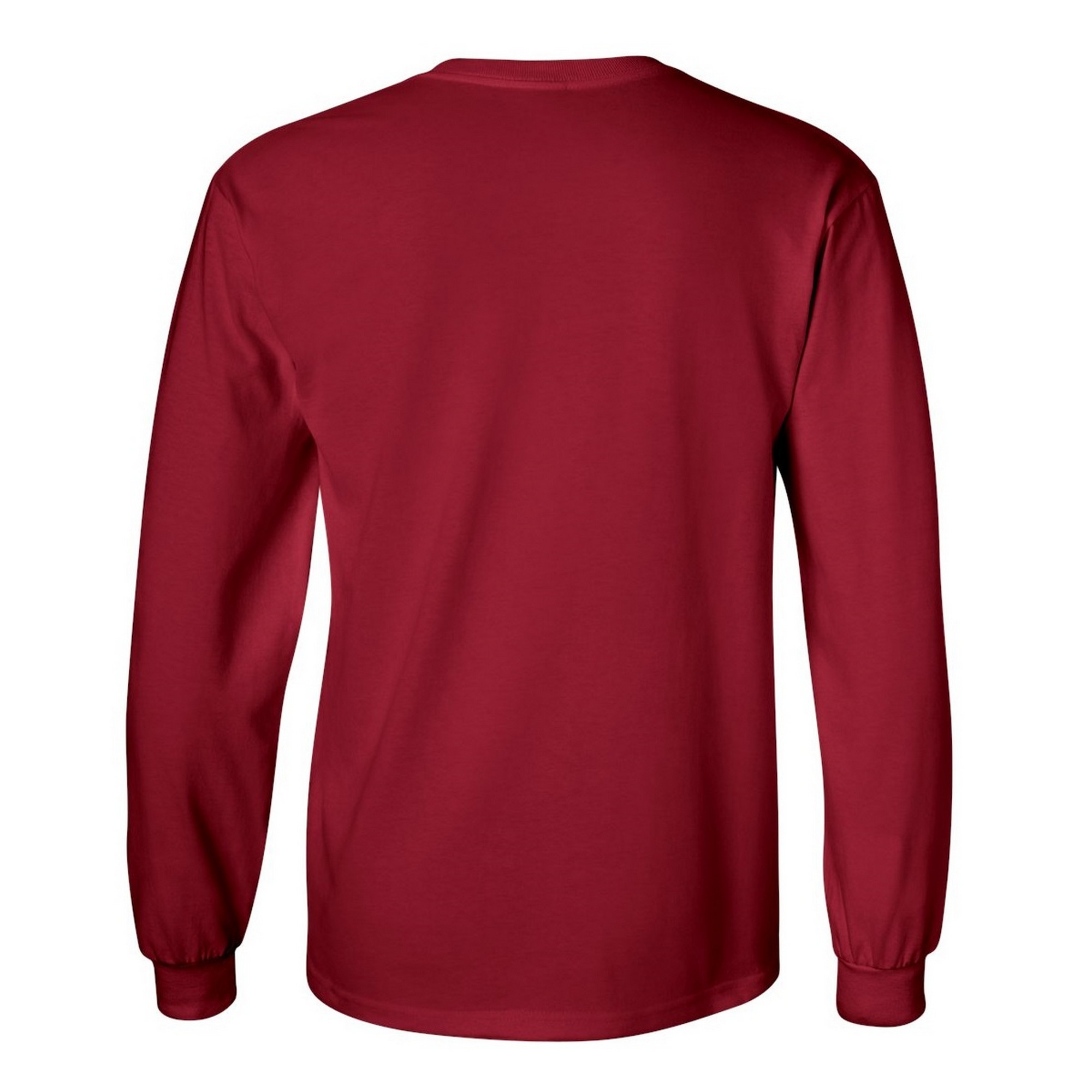 miniature 76 - T-shirt-uni-a-manches-longues-Gildan-100-coton-pour-homme-S-2XL-BC477